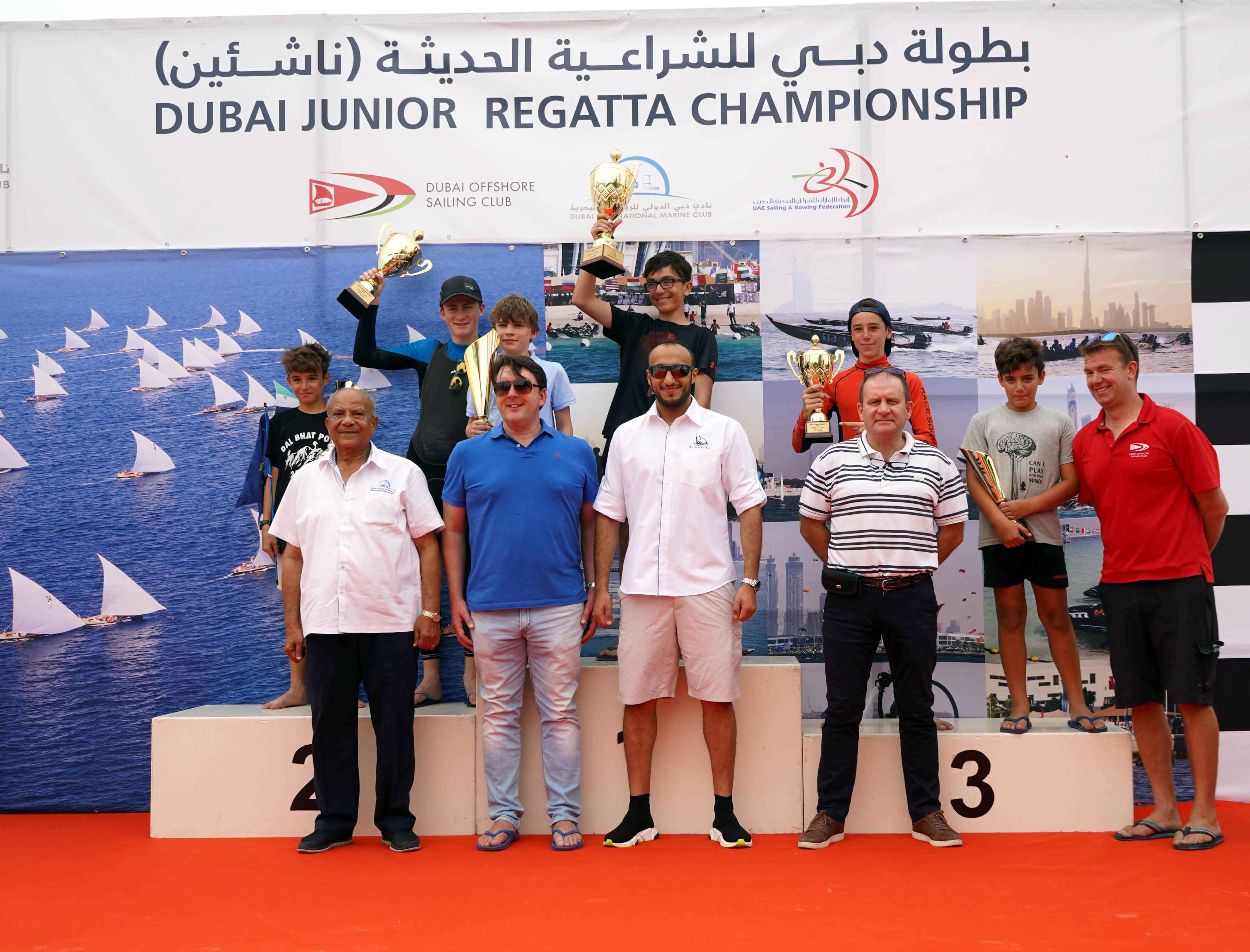 Success in  the final round of Dubai Junior Regatta