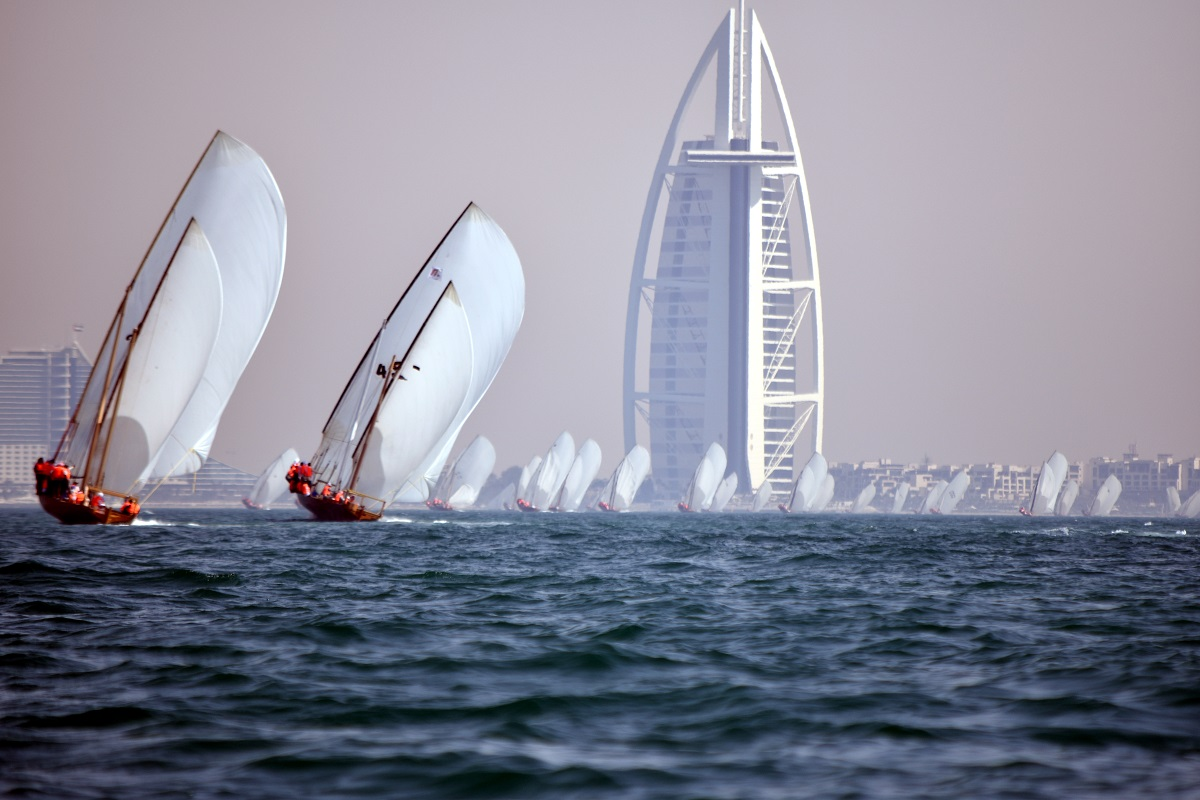First Peal Exhibition of Al Gaffal Dhow Race  opens today in Al Fahidi neighborhood