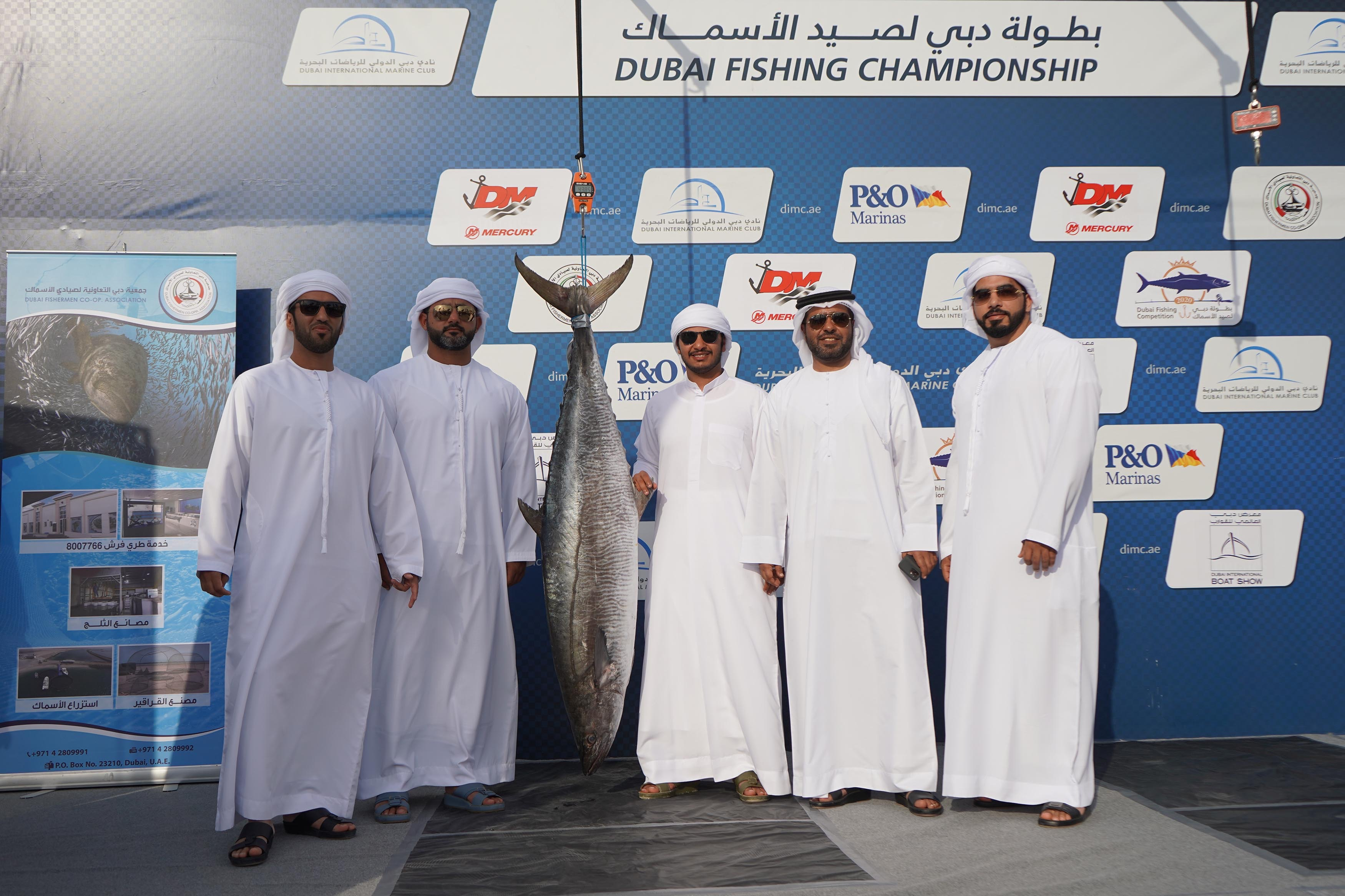 43.85 KG Kingfish by Al Muhairbi took the Topspot for Kingfish