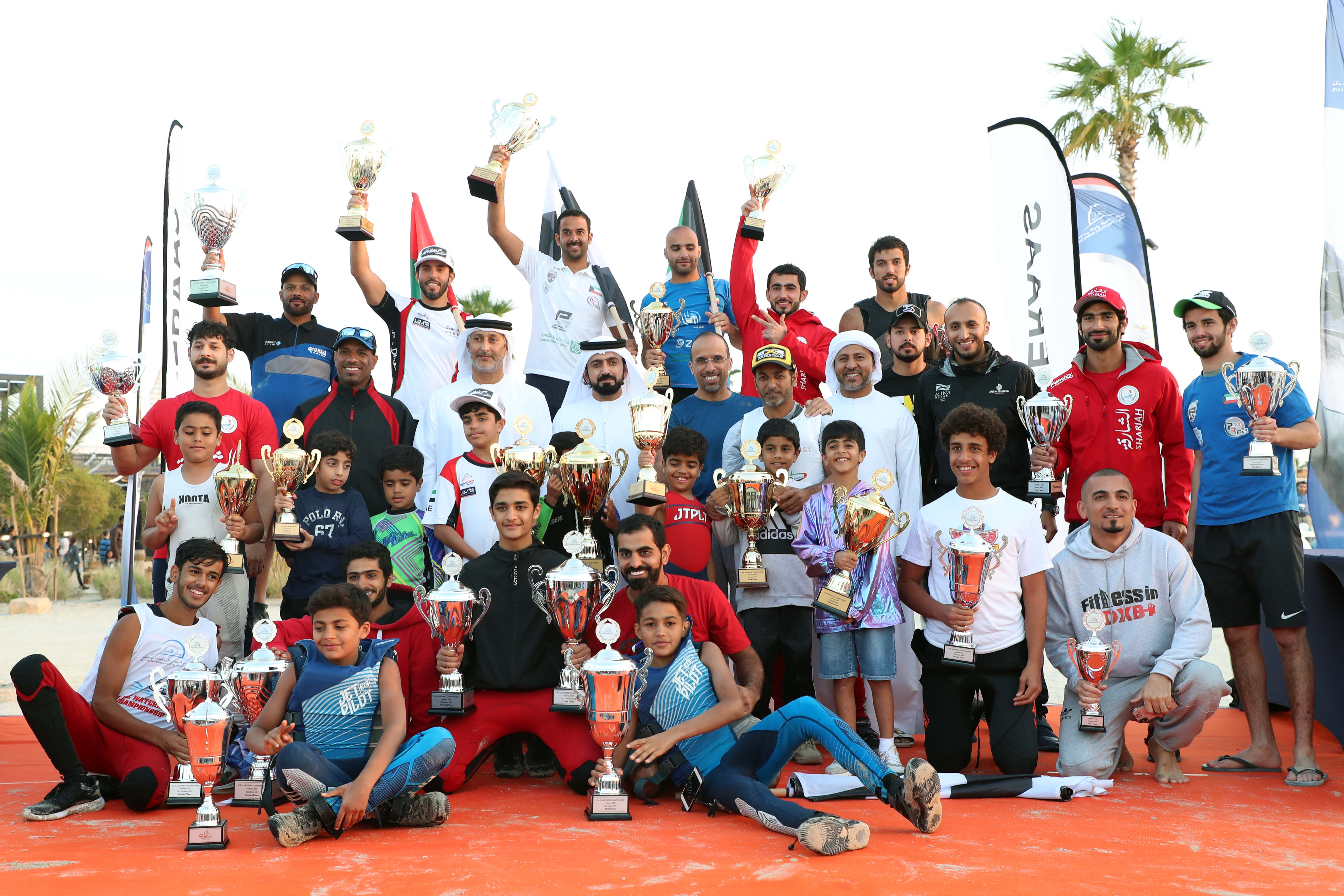 UAE Champions shine in the Dubai Int'l Aquabike Race