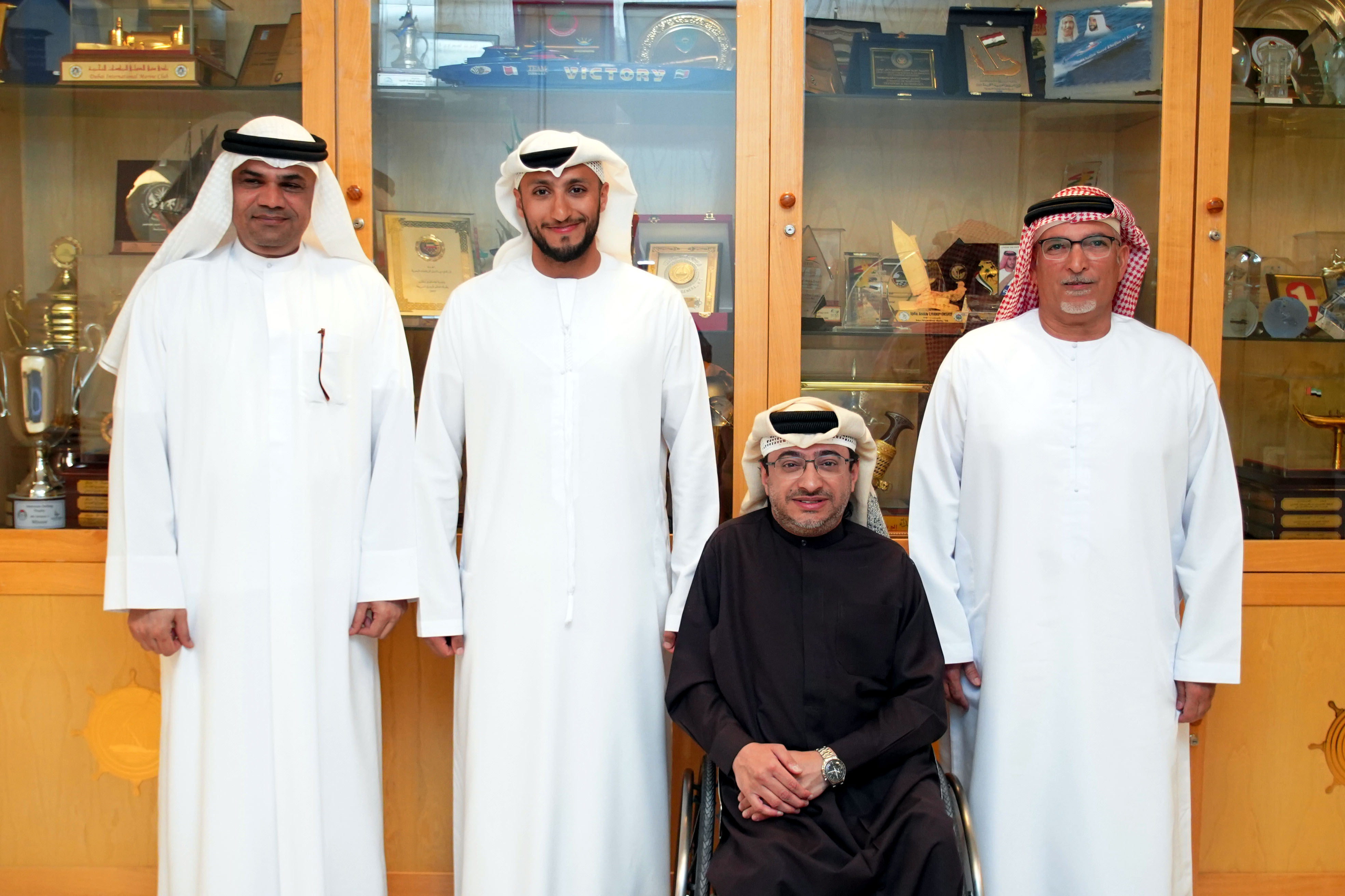 DIMC thanks the Al Oula Radio (107.4)