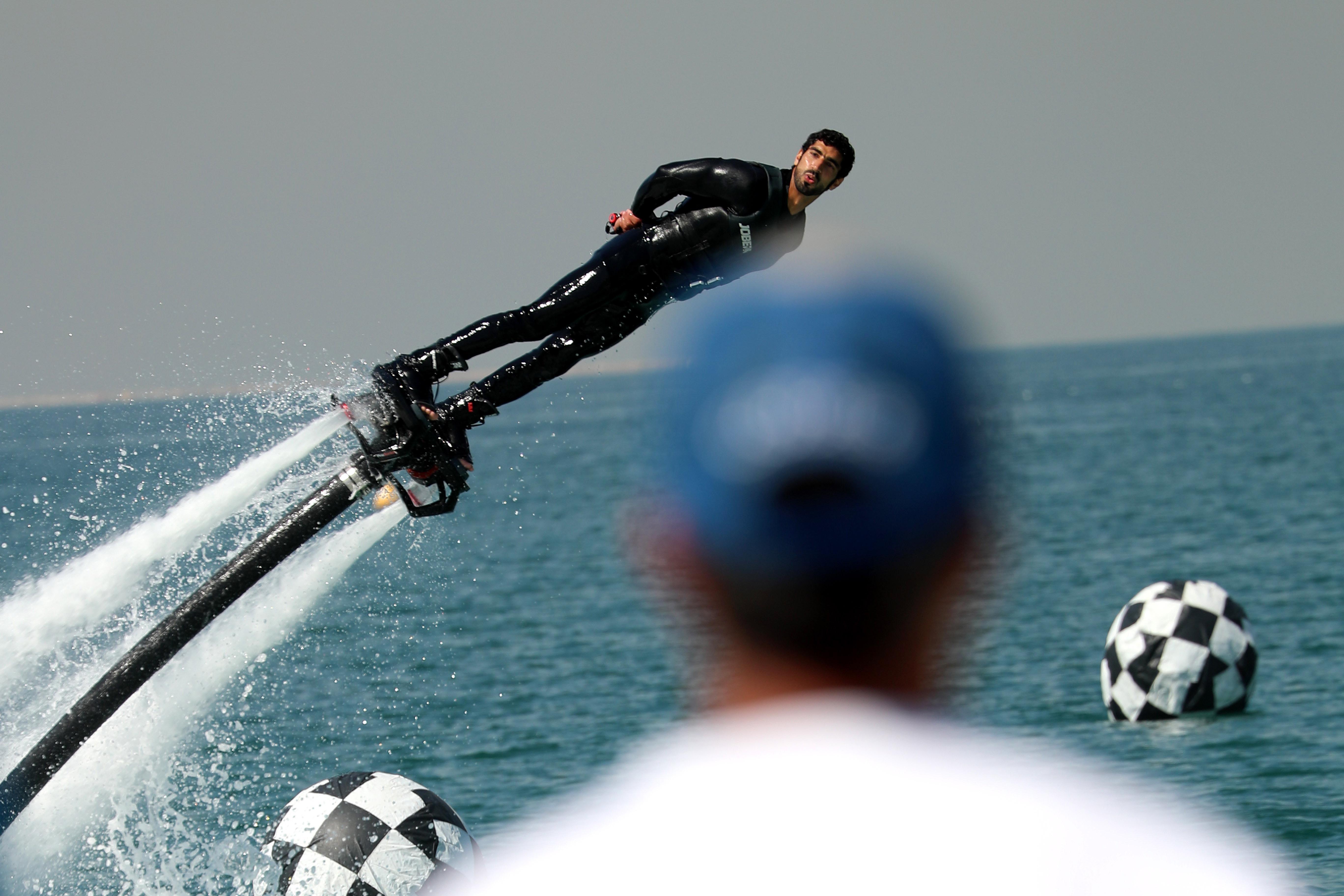 Dubai Aquabike Race kicks off today at La Mer