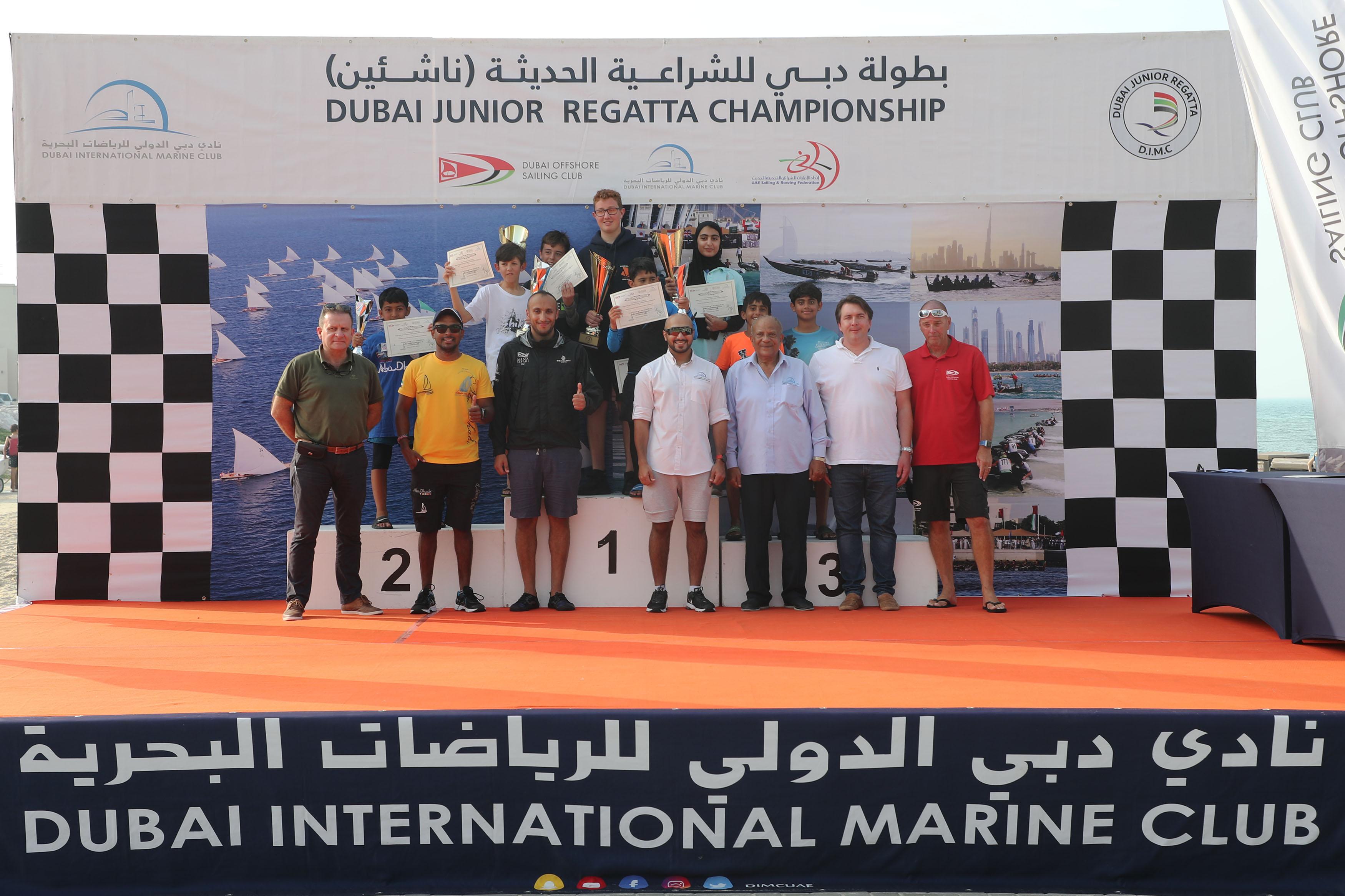 The Conclusion of Dubai Junior Regatta Second Round