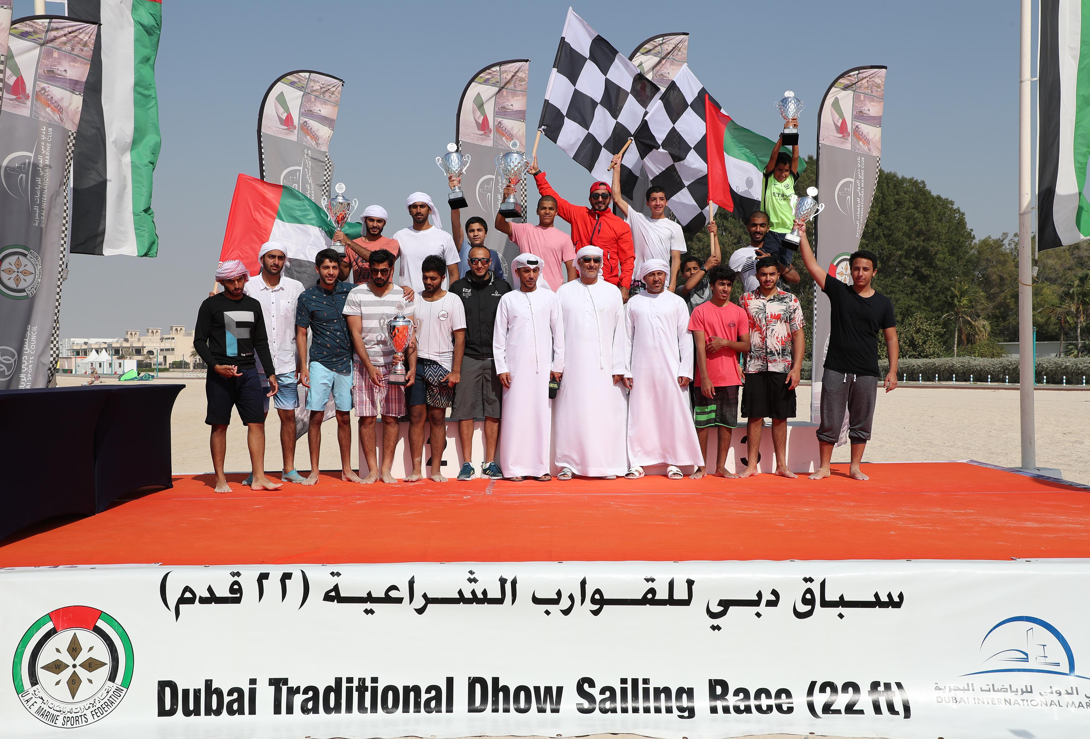 Zilzal 87 Crowned as Champion of the 22ft Dhow Race