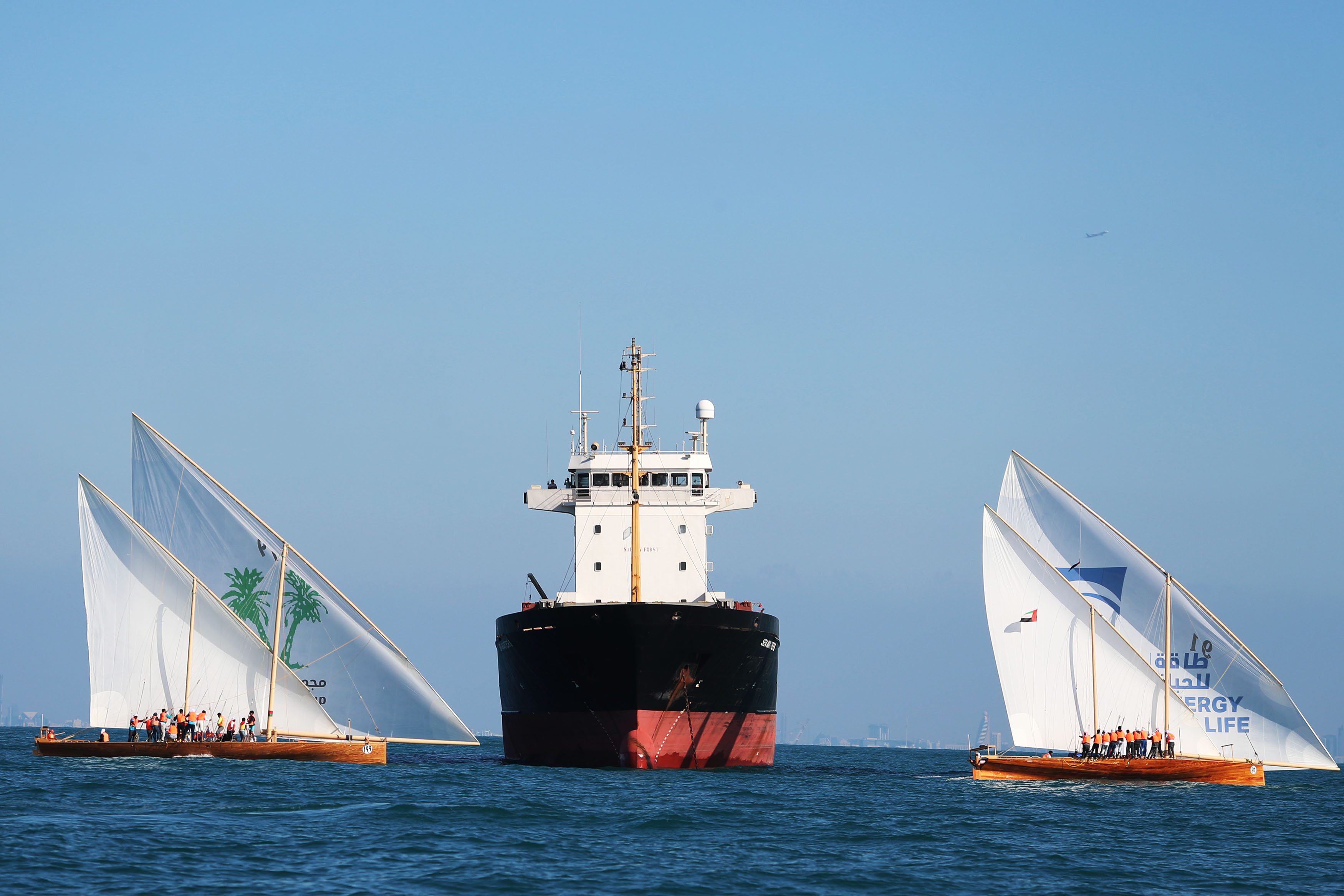 60ft Dhow Sailing Race on Saturday in Dubai Shore