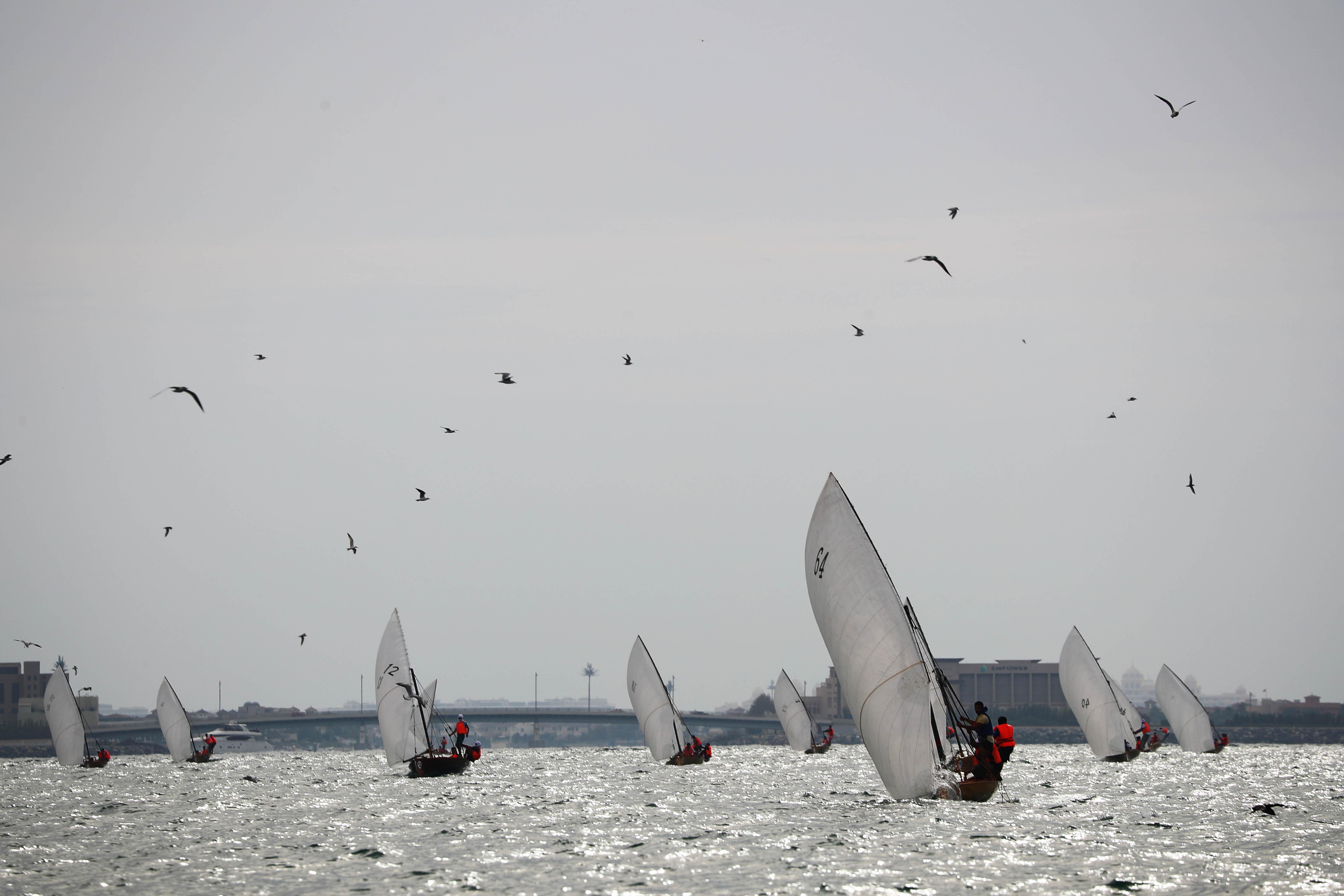 22ft Dubai Traditional Dhow Sailing Race Kicks off tomorrow