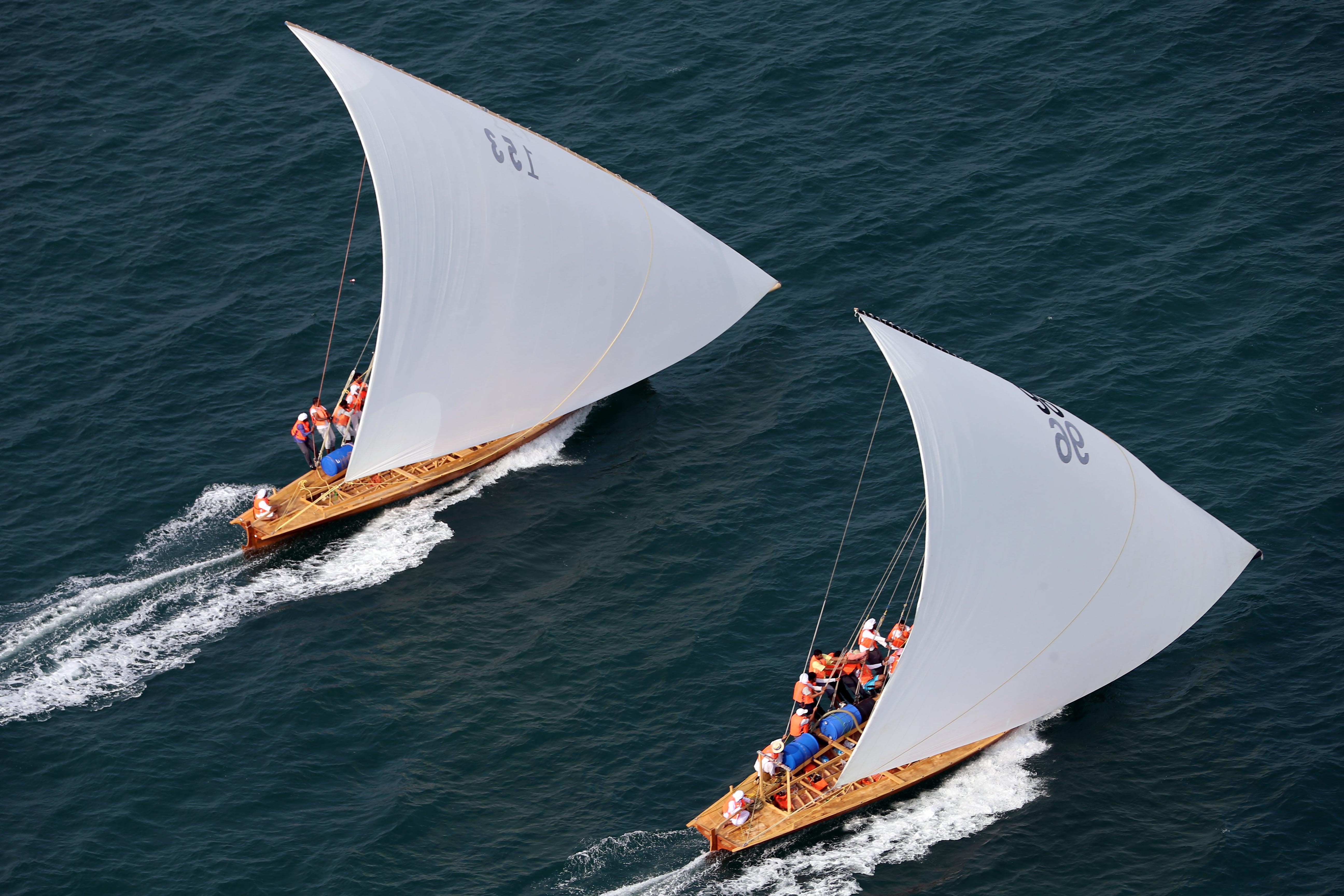 DIMC launches the 43ft Dubai Traditional Dhow Sailing Race Today