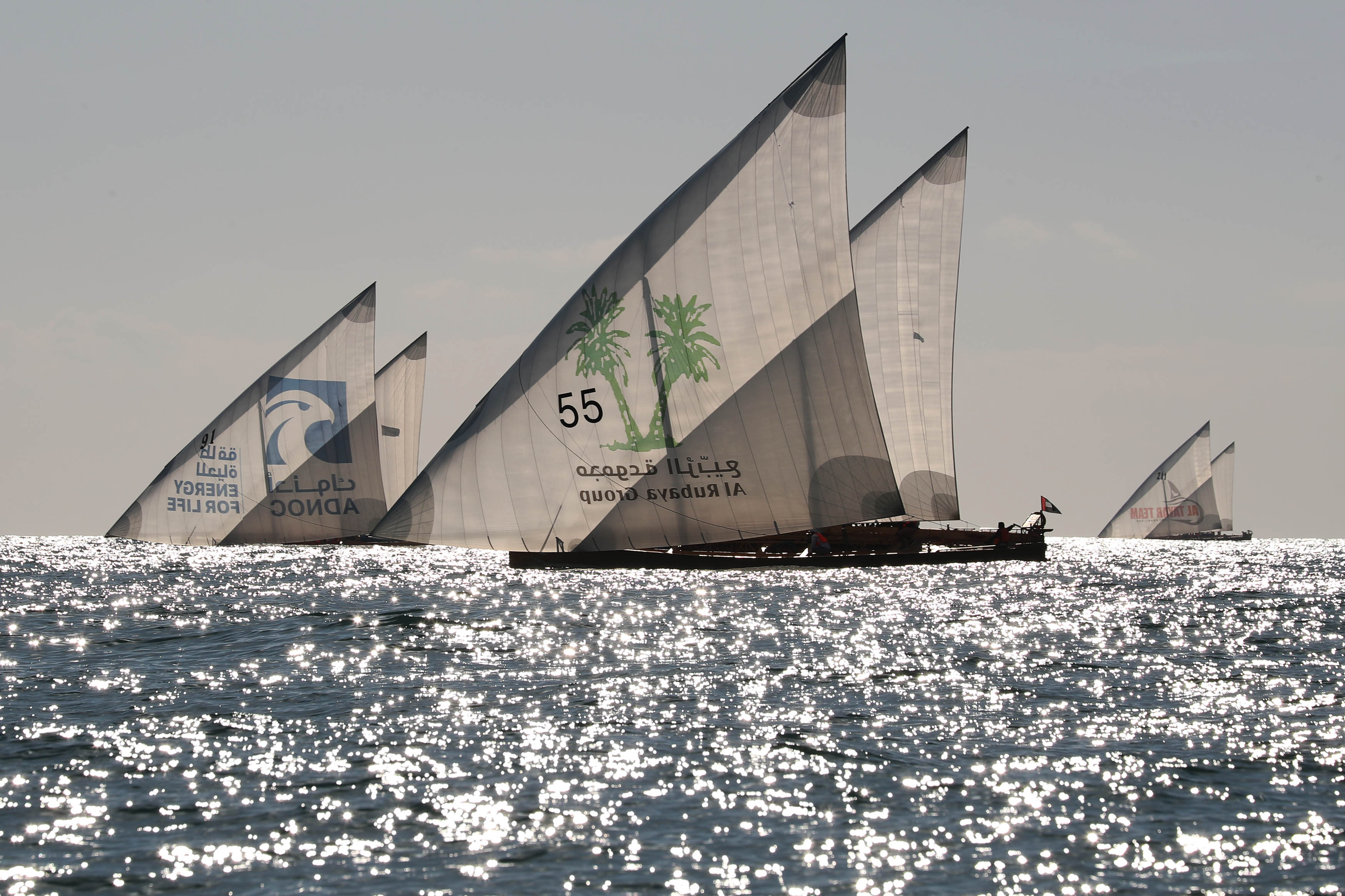 Al Tabr 55 tops the 60ft Dhow Race Overall