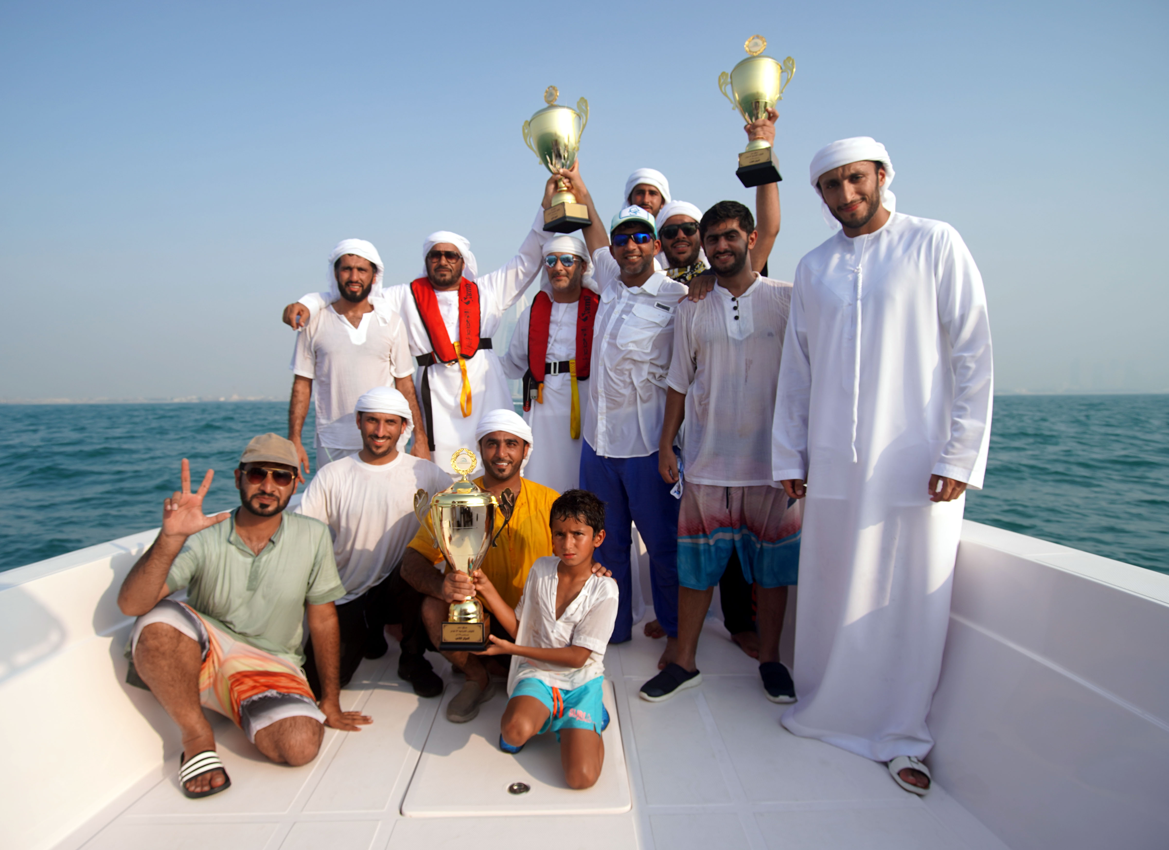 "Shaheen ""39"" won the 43ft Dubai Traditional Dhow Sailing Race"