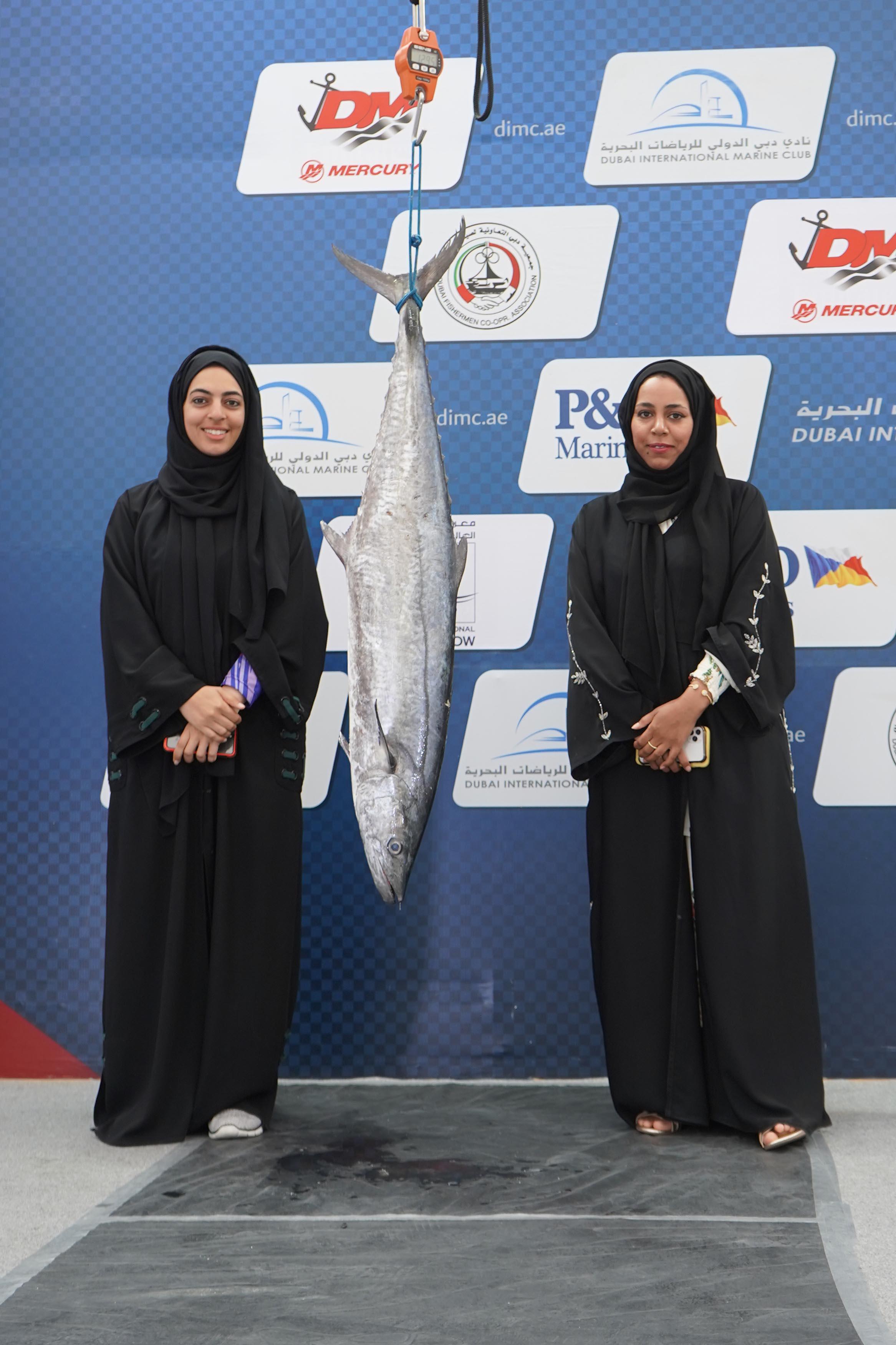 Al Namos Women's Team participated in Dubai Fishing championship