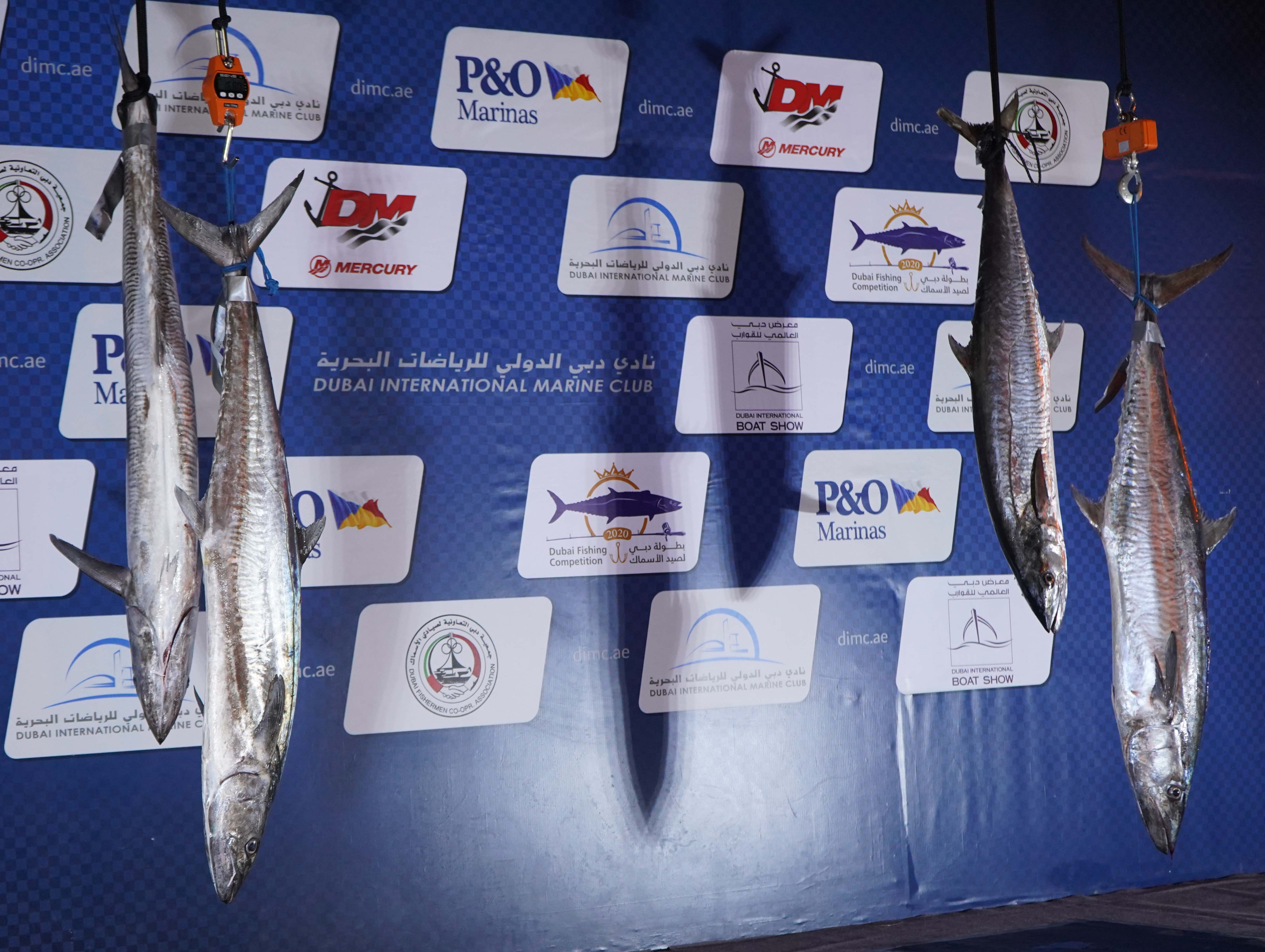 Excitement in Dubai Fishing Competition