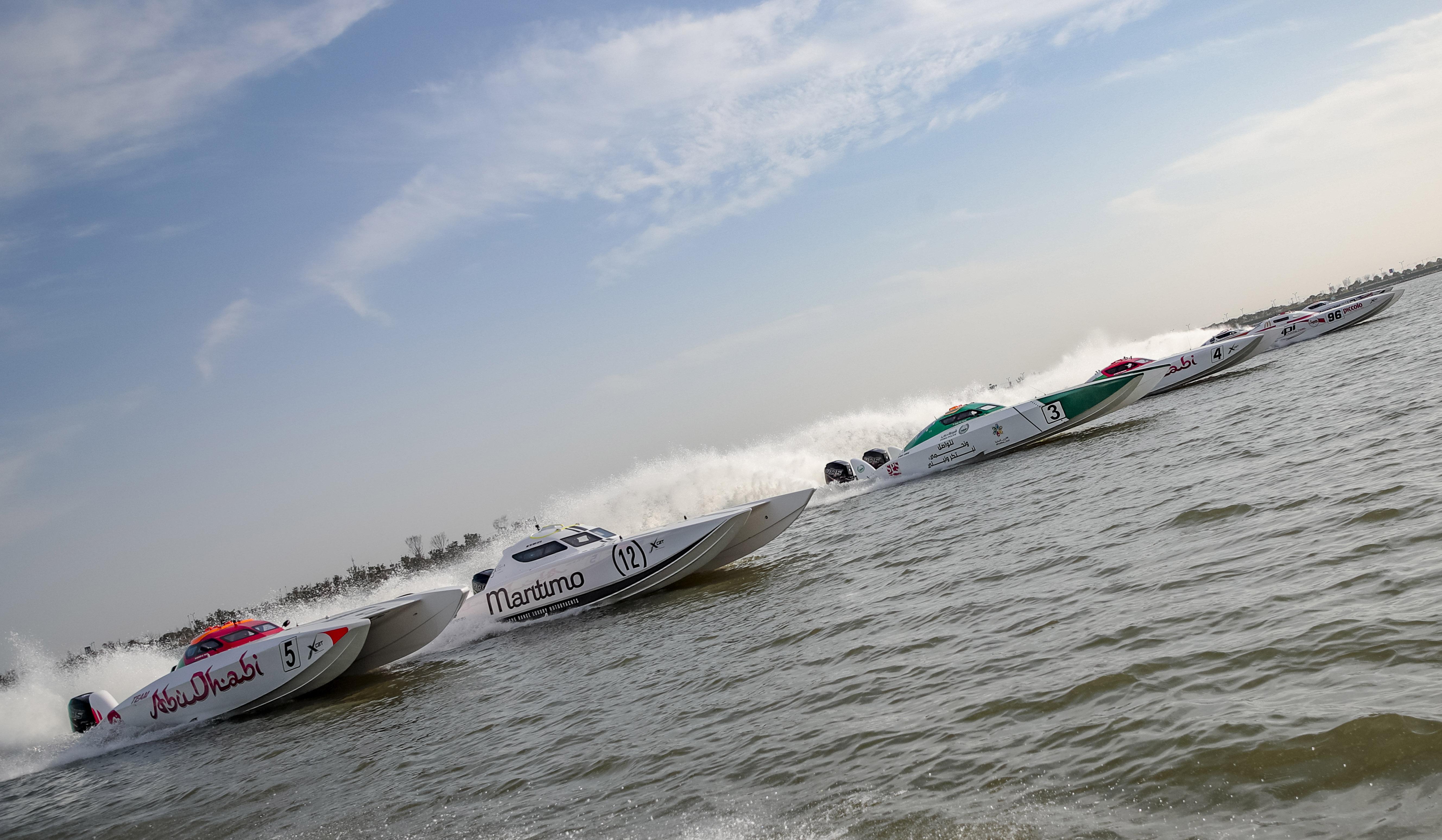 XCAT Dubai Grand Prix awaits audience at Jumeirah Beach