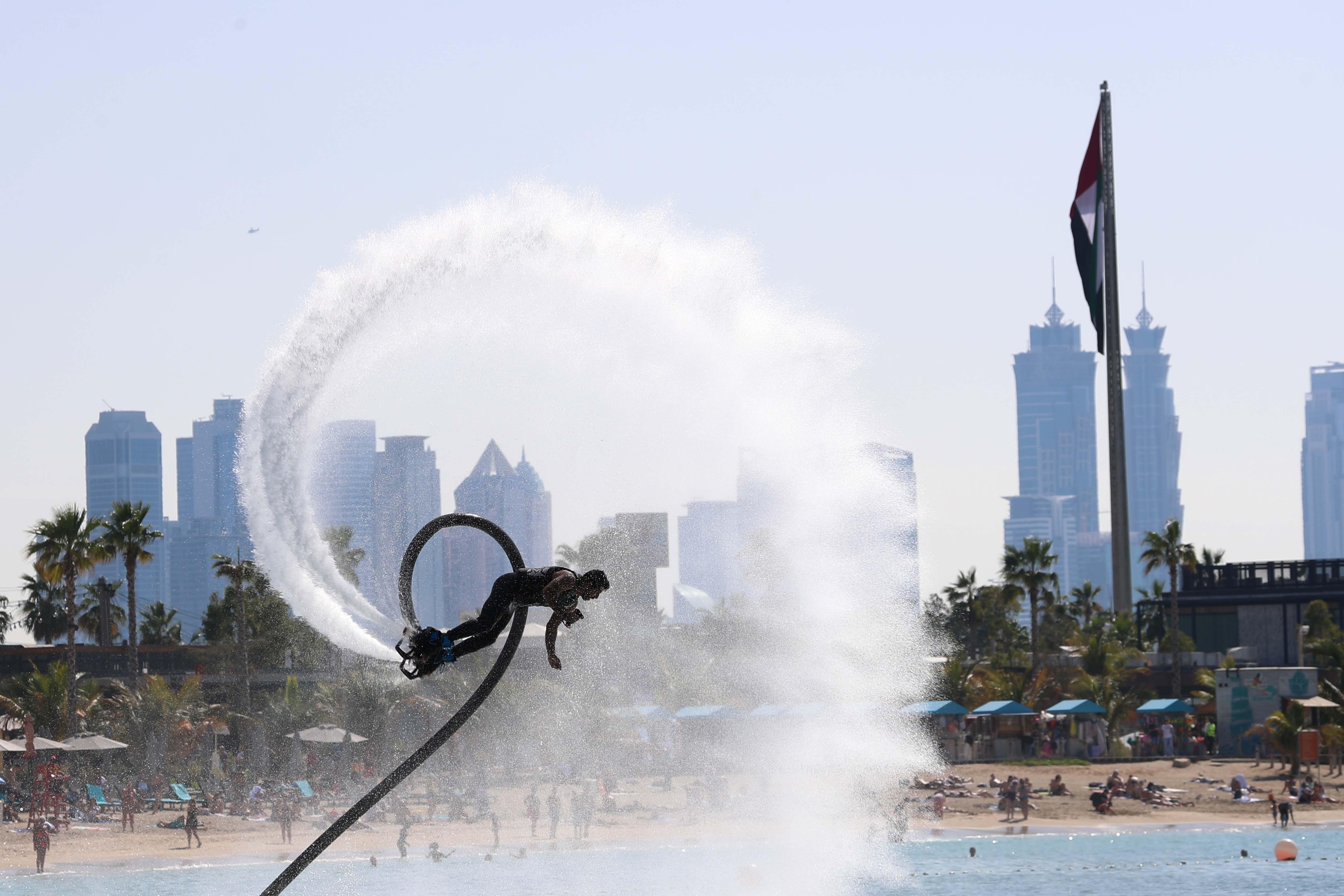 Dubai Water Sports Week starts today at Al Shurooq Beach