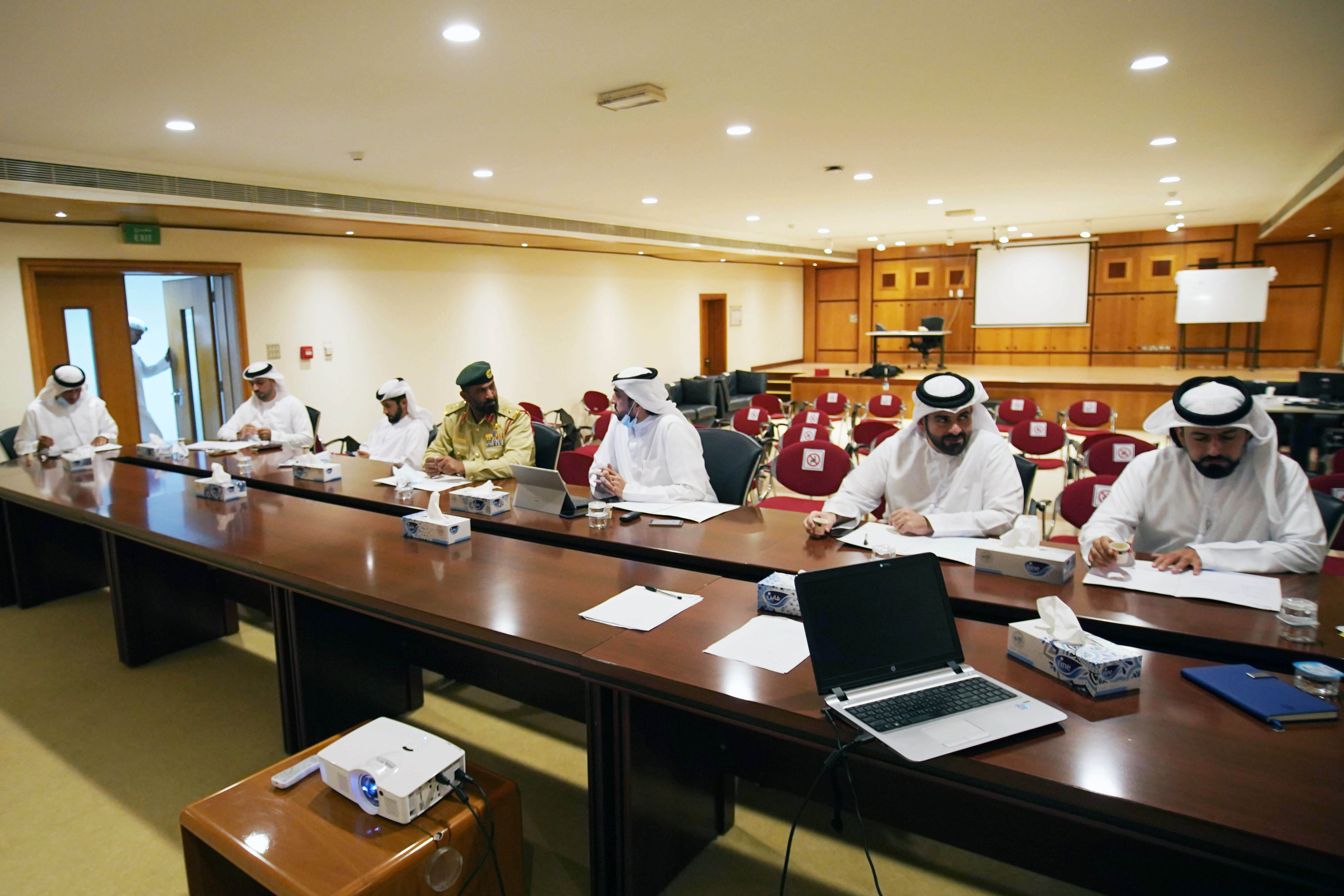 DIMC appreciates the support and follow-up of Mansoor bin Mohammed