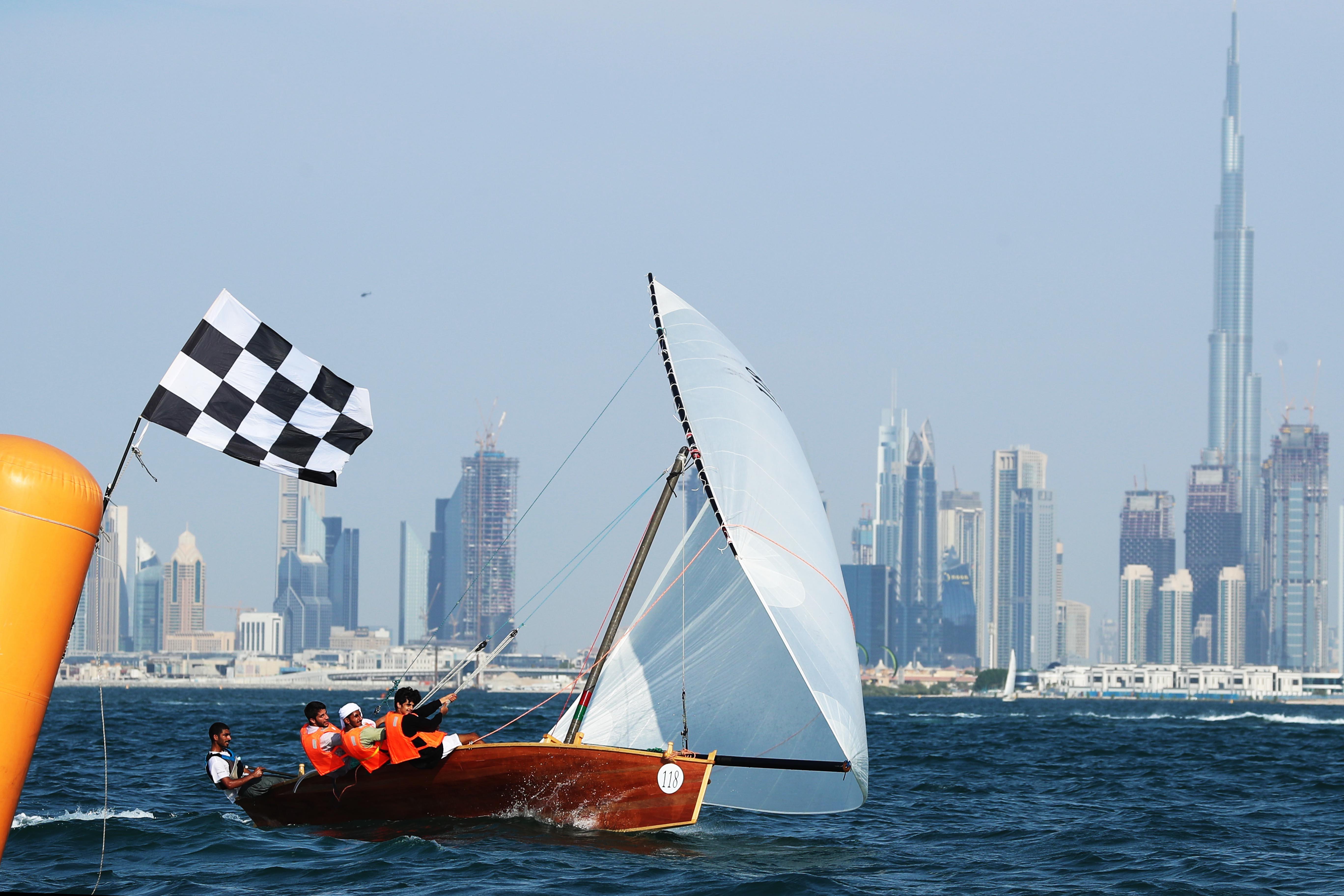 22ft Dhow Sailing Race kicks off today in Jumeirah