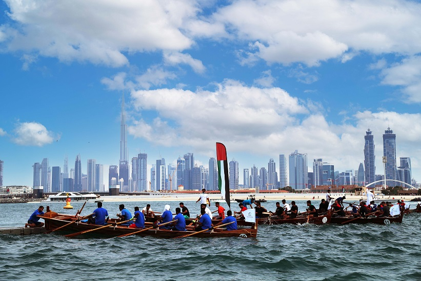 Al Maktoum Cup Traditional Rowing Boat Today