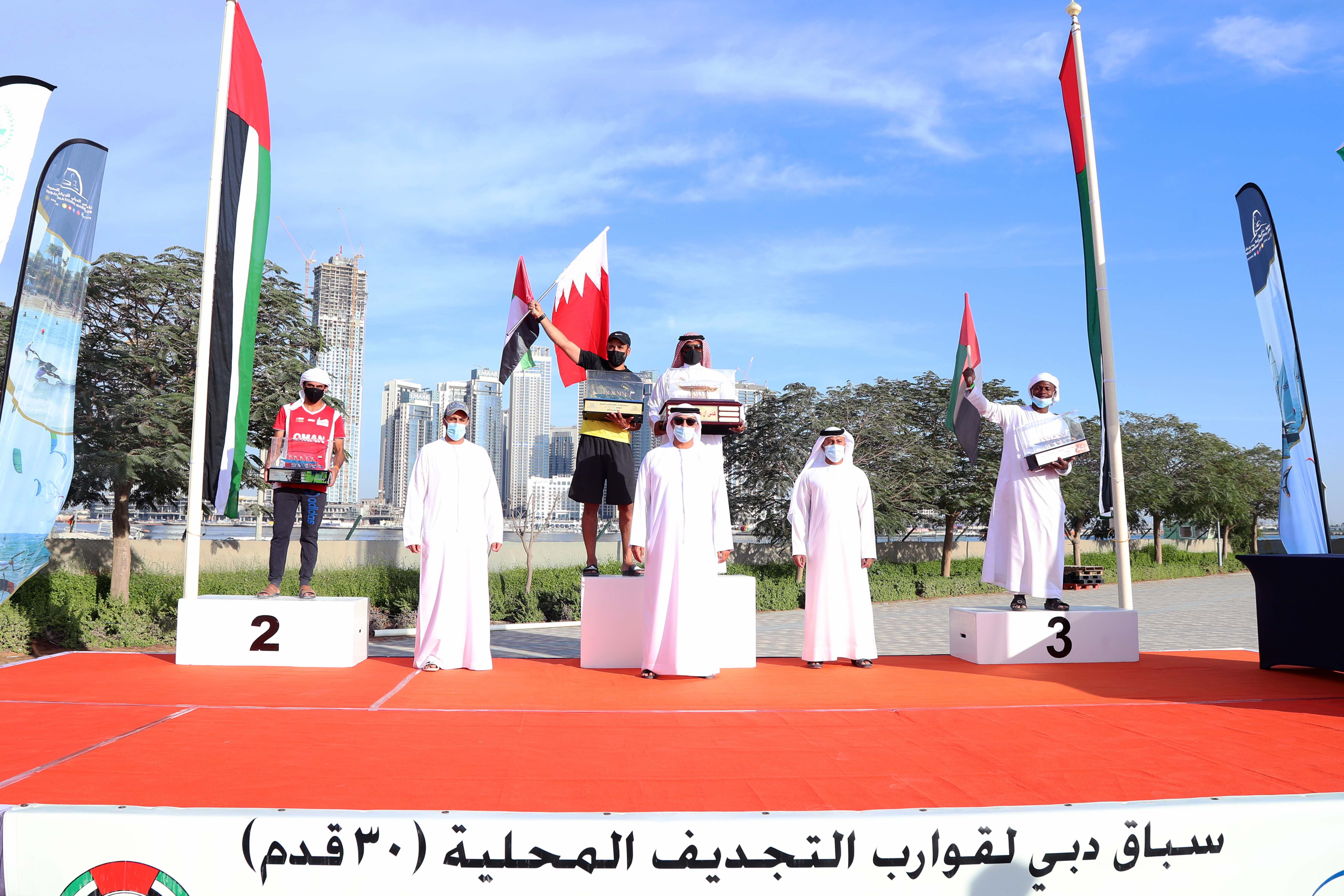KHK(54) Champion of the 24th Al Maktoum Cup Traditional Rowing - 30ft