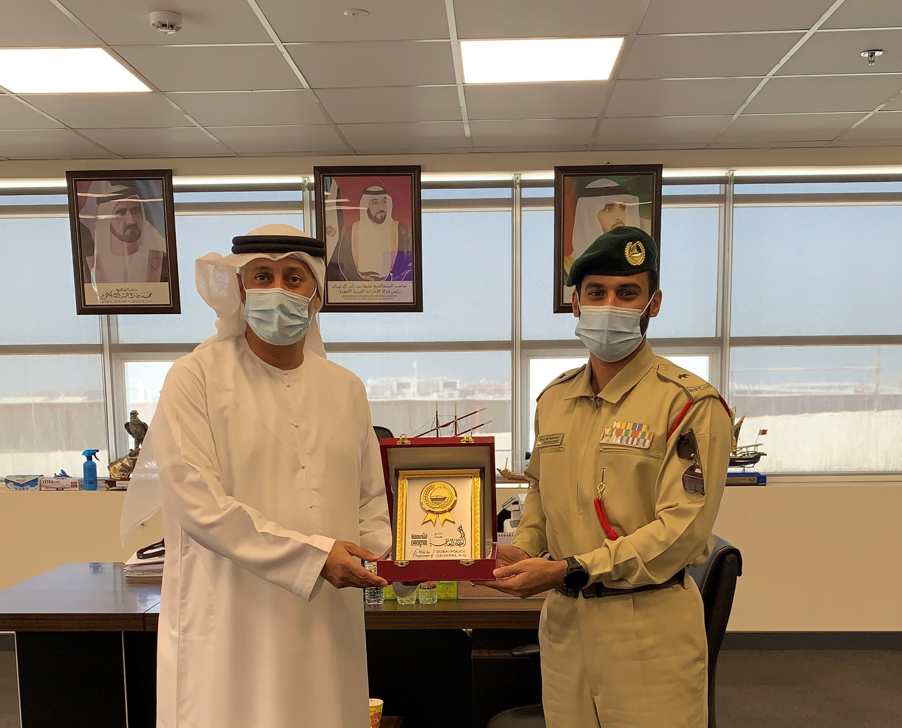 Dubai Police honors DIMC