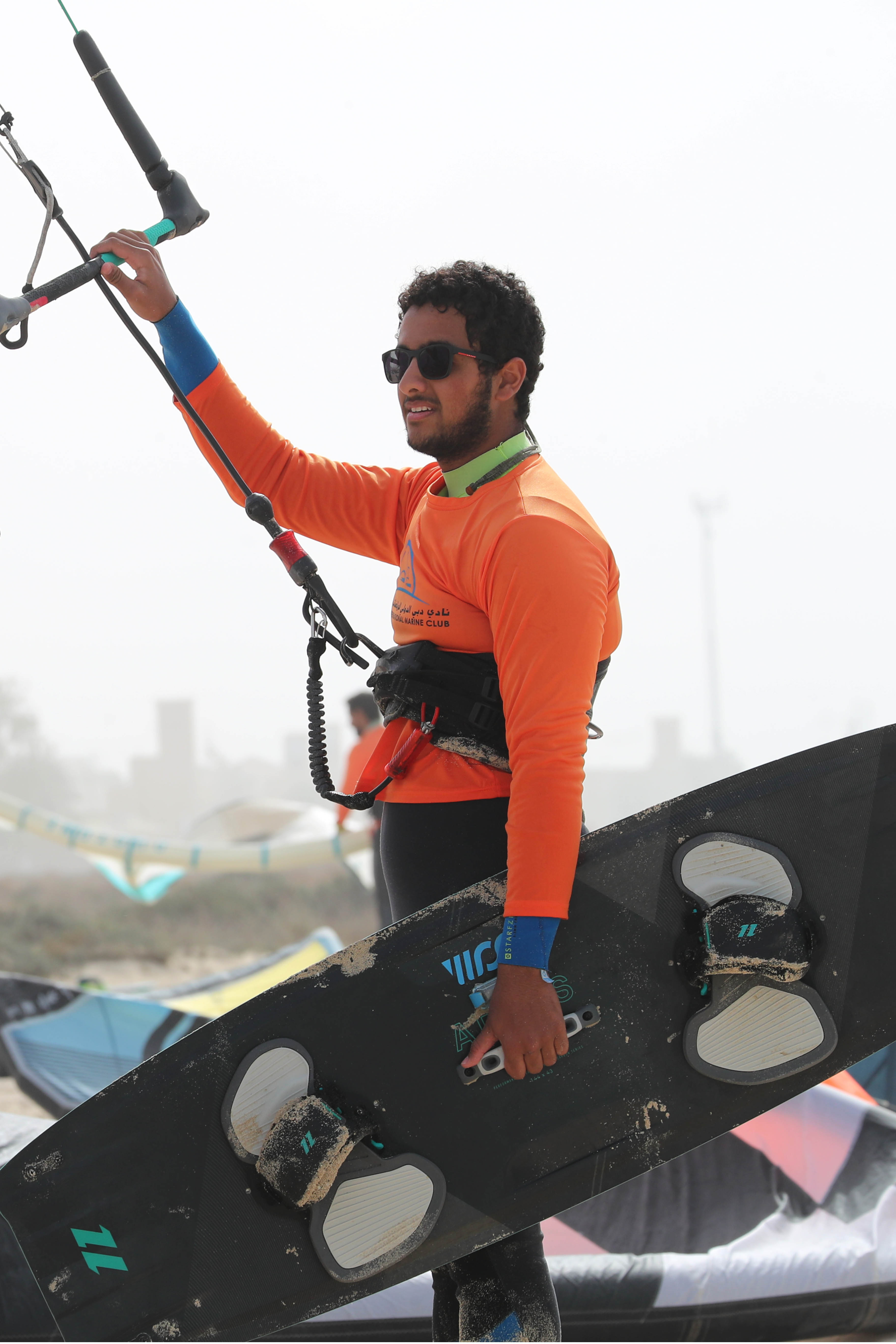 Dubai discover sports talents in Kitesurfing