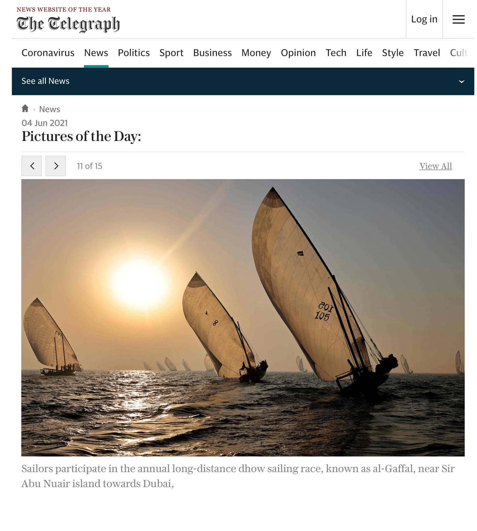 International Media Coverage for the 30th Al Gaffal Race