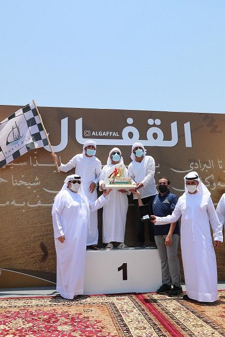 Saeed bin Hamdan Crowned Namran (211) as Champion of the 30th Al Gaffal