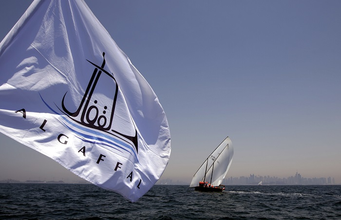 Dubai Eye is the Finish line of Al Gaffal Race