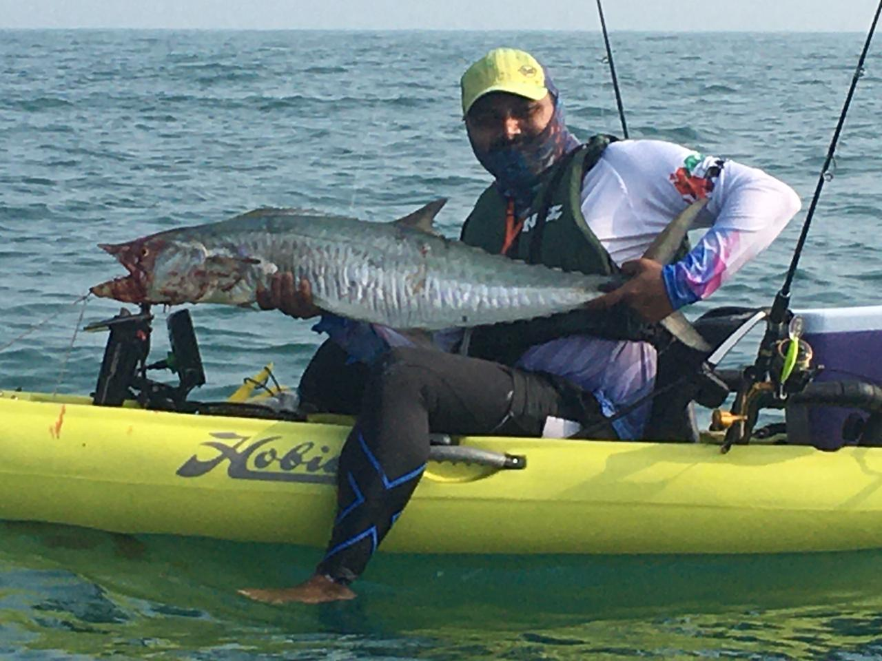 100  Participants joins the Dubai Kayak Boats Fishing Tournament today