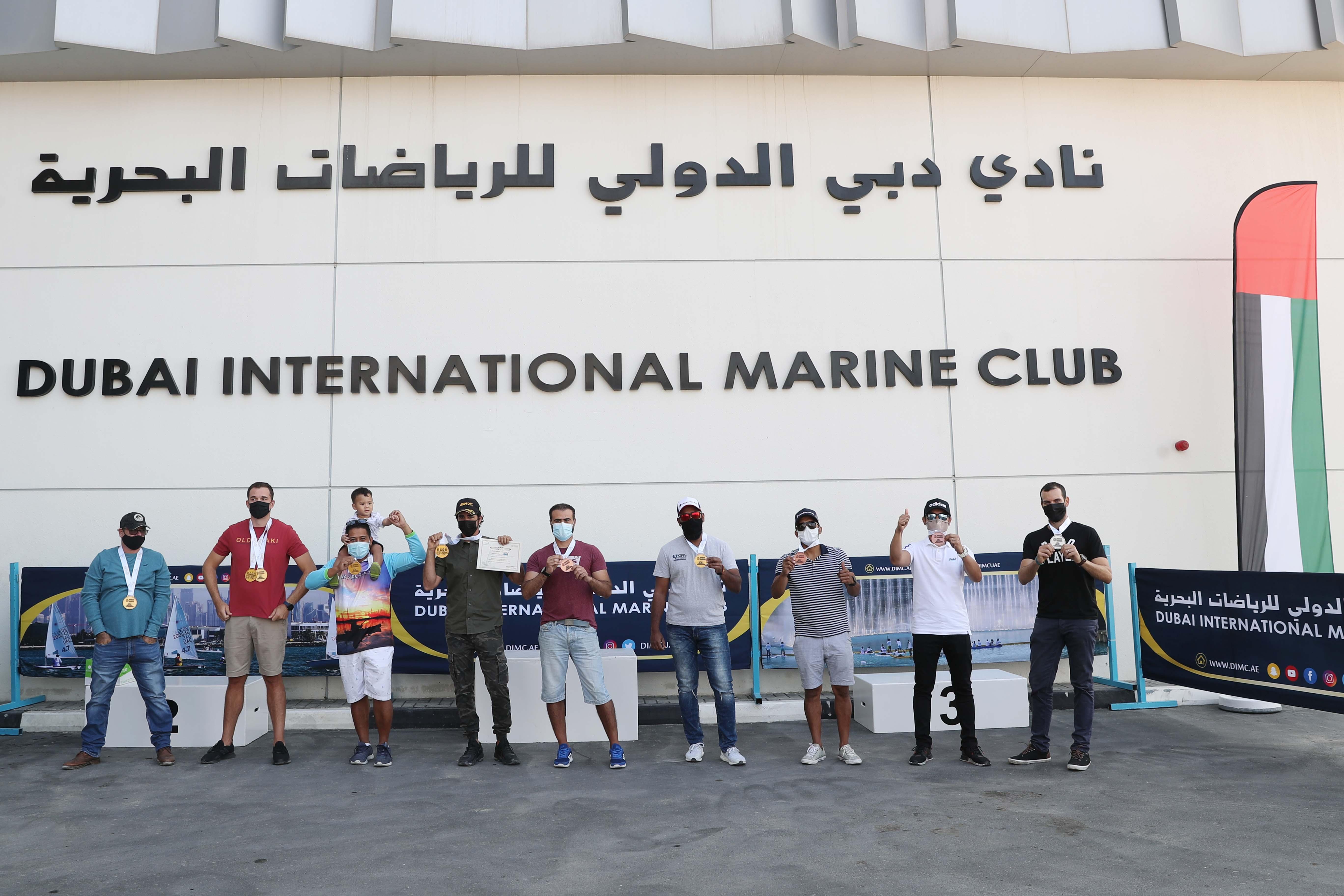 DIMC celebrates the winners and sponsors of Dubai Kayak Boats Fishing Tournament