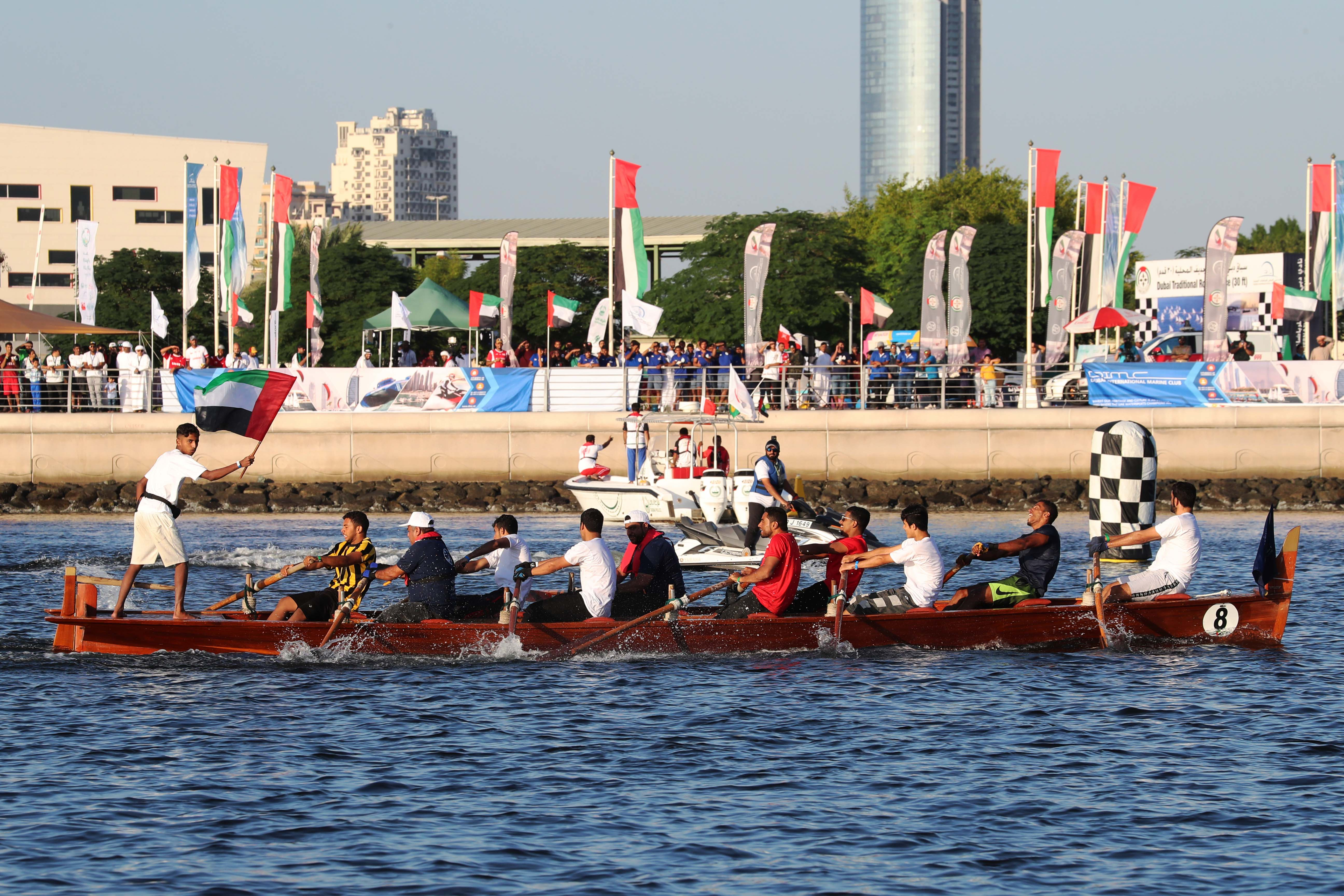 Dubai Traditional Rowing Race First Round Today