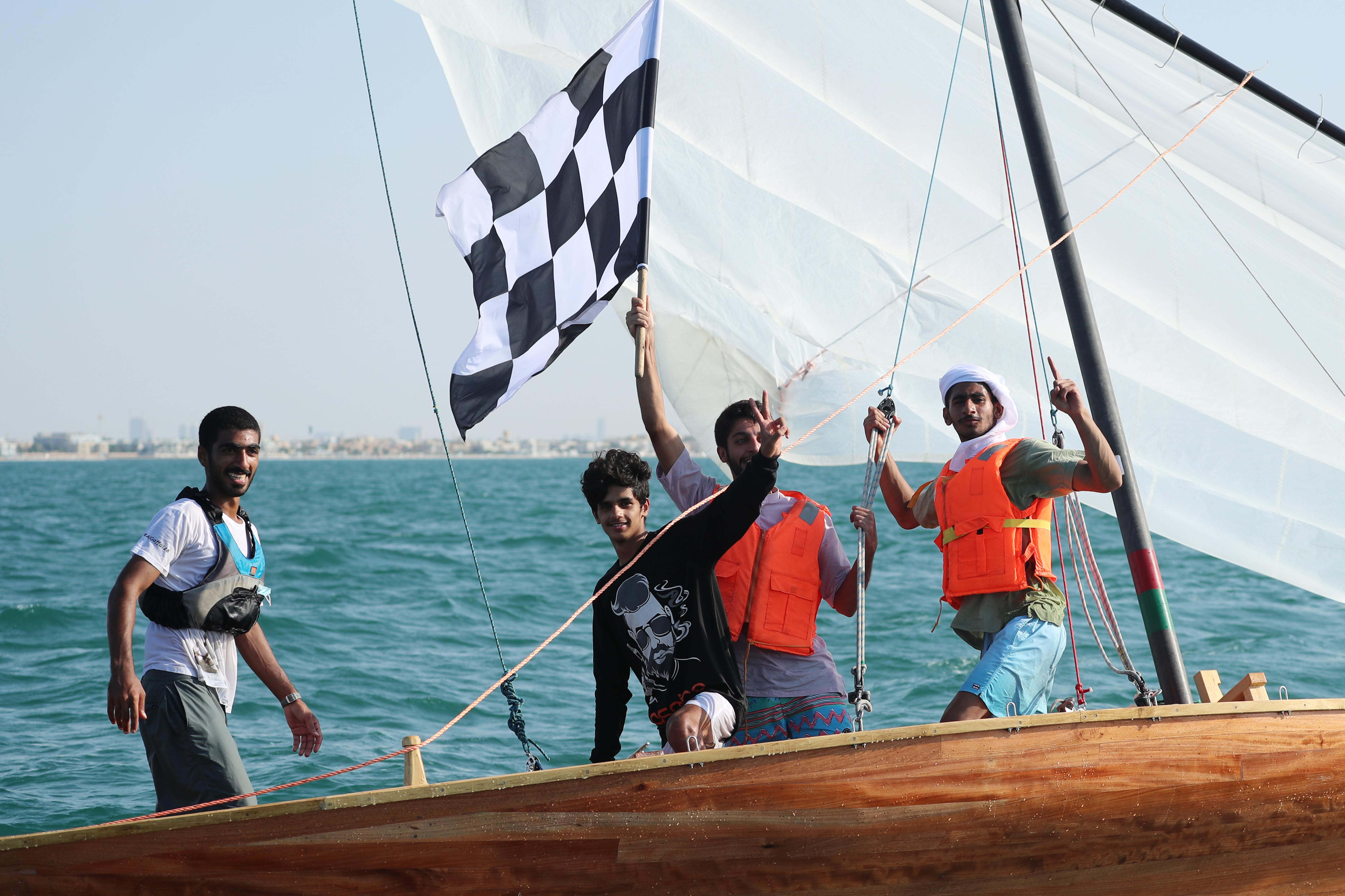DIMC crowned the champion of the 22ft Dhow Race Online