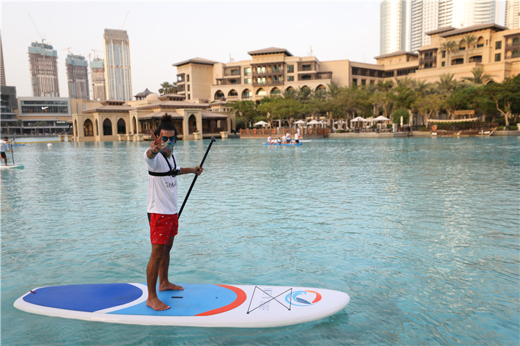 "100,000 AED total prize money for the winners of ""We Paddle for Hatta"""