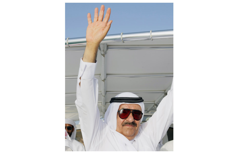Hamdan bin Rashid luminous imprint in the history of marine sports