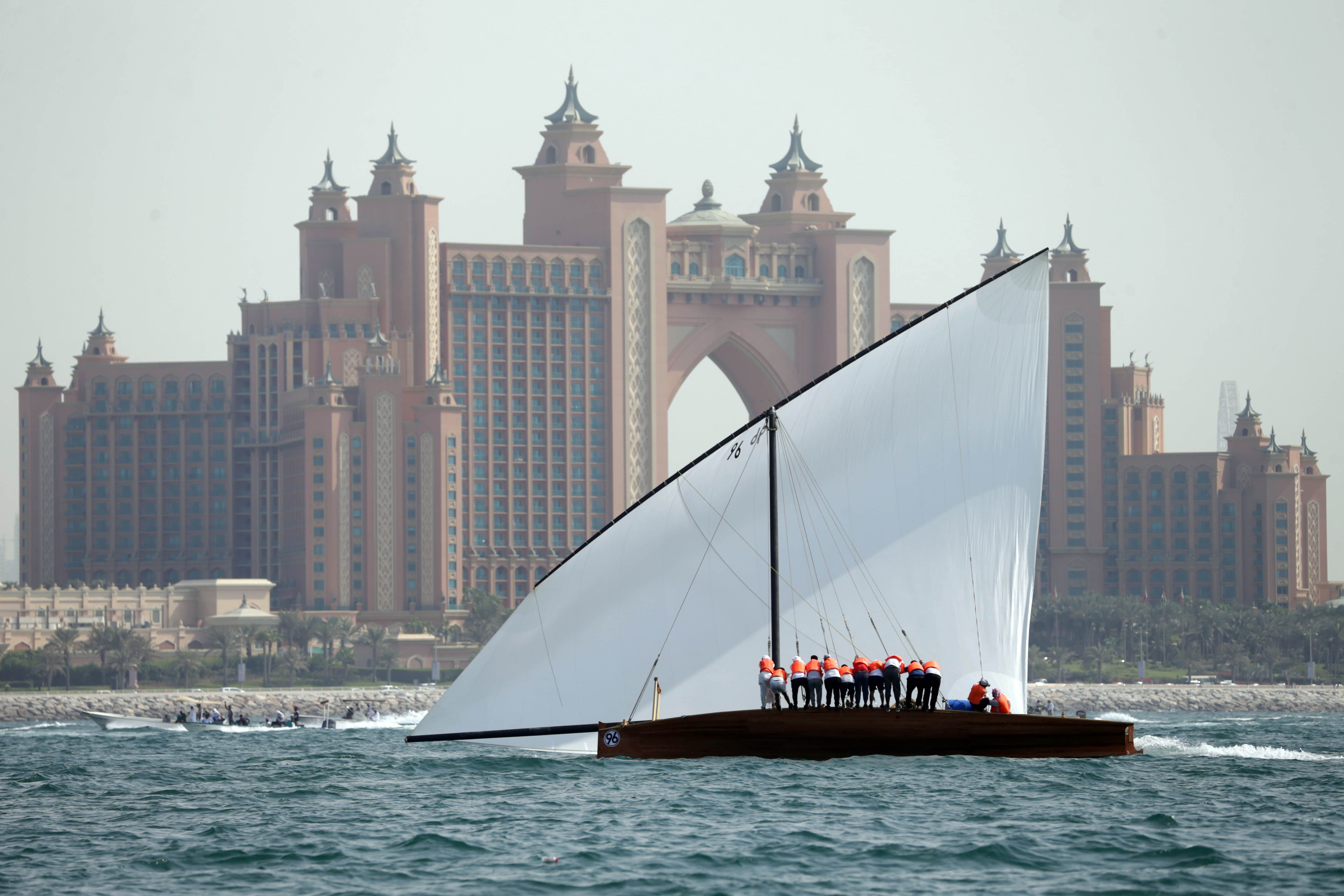 First Round of 43ft Dhow Sailing Race Postponed