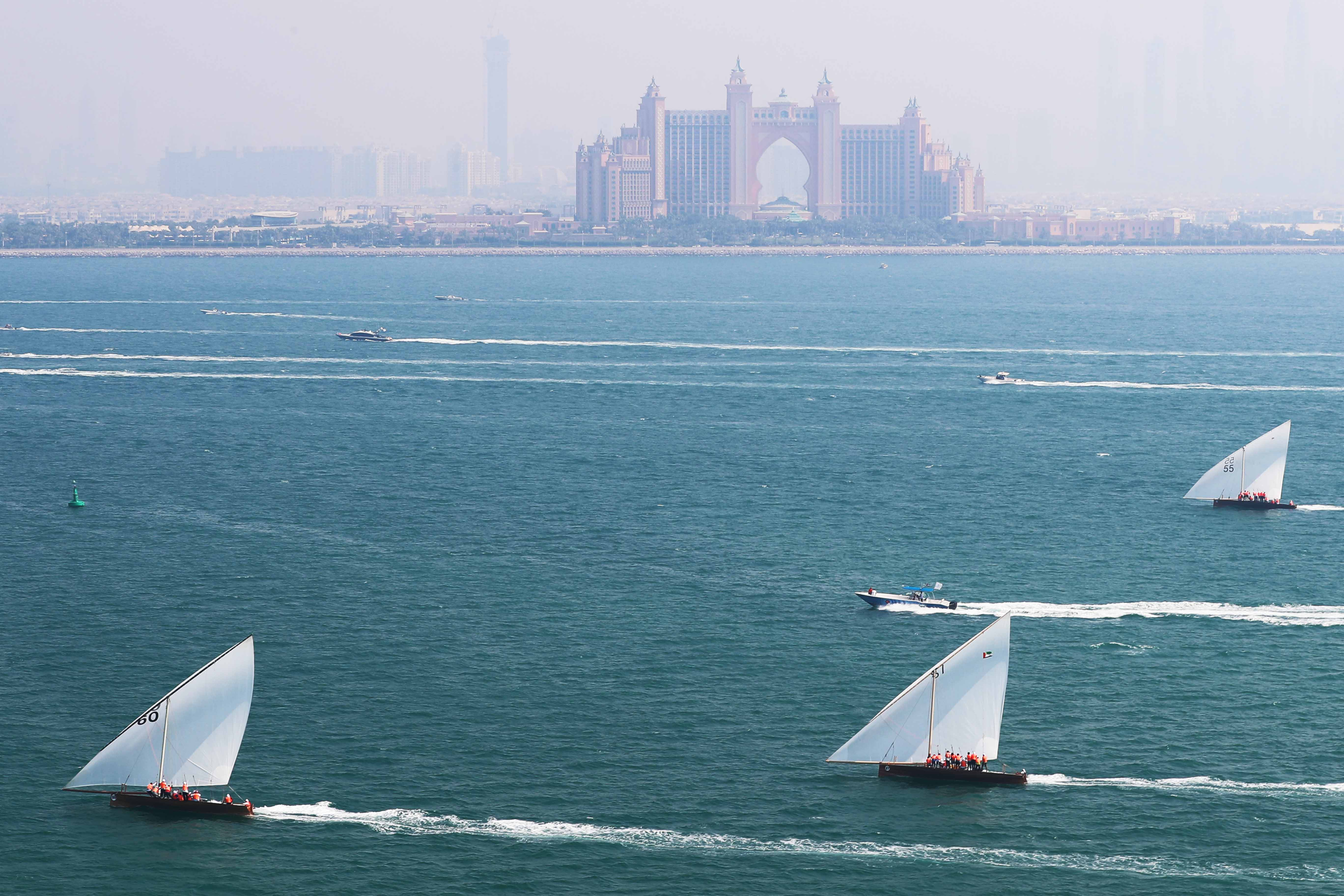 43ft Dhow Race Returns to Sail in Dubai Beach on Saturday