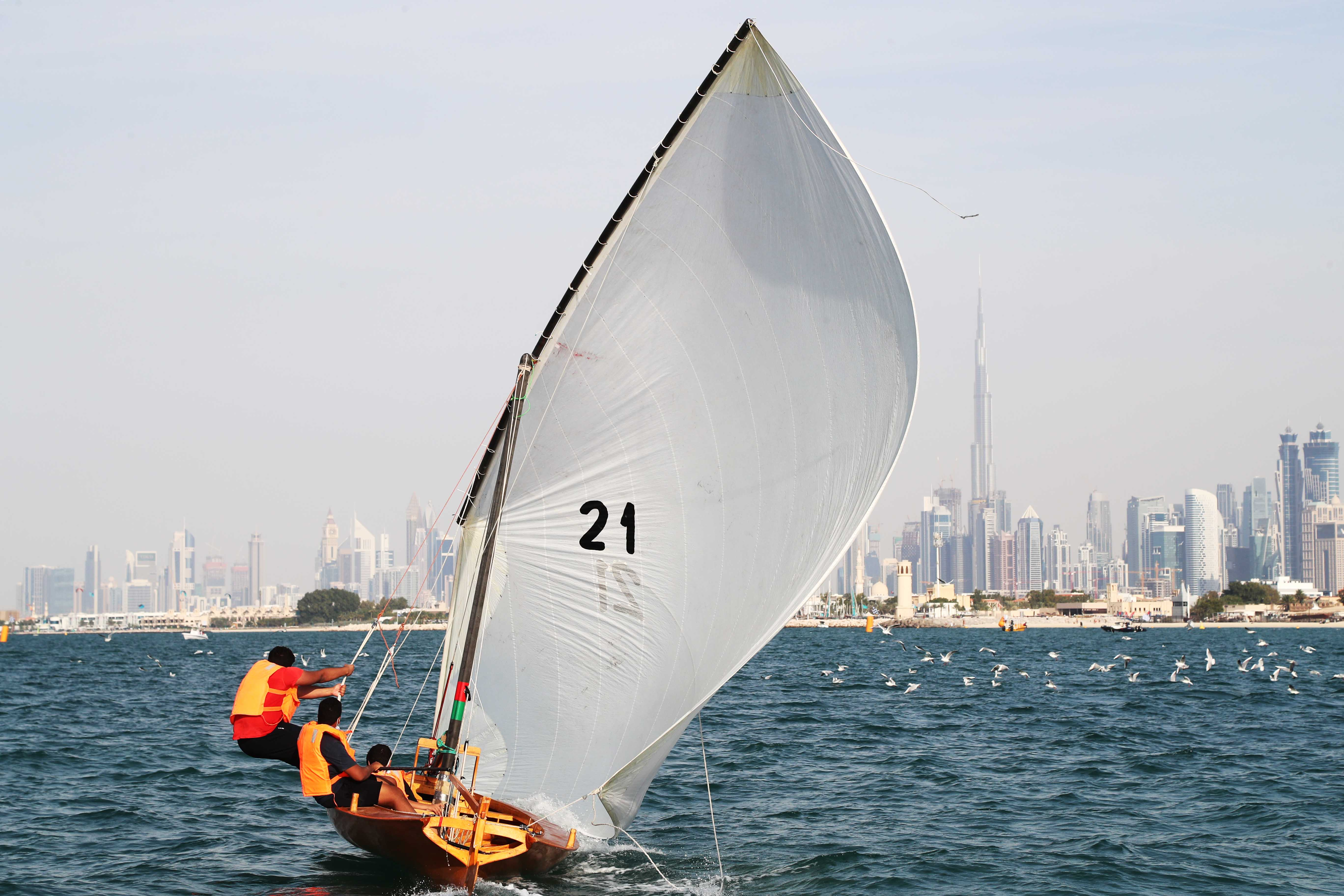 22ft Dhow Sailing Race as Season Opener on Friday