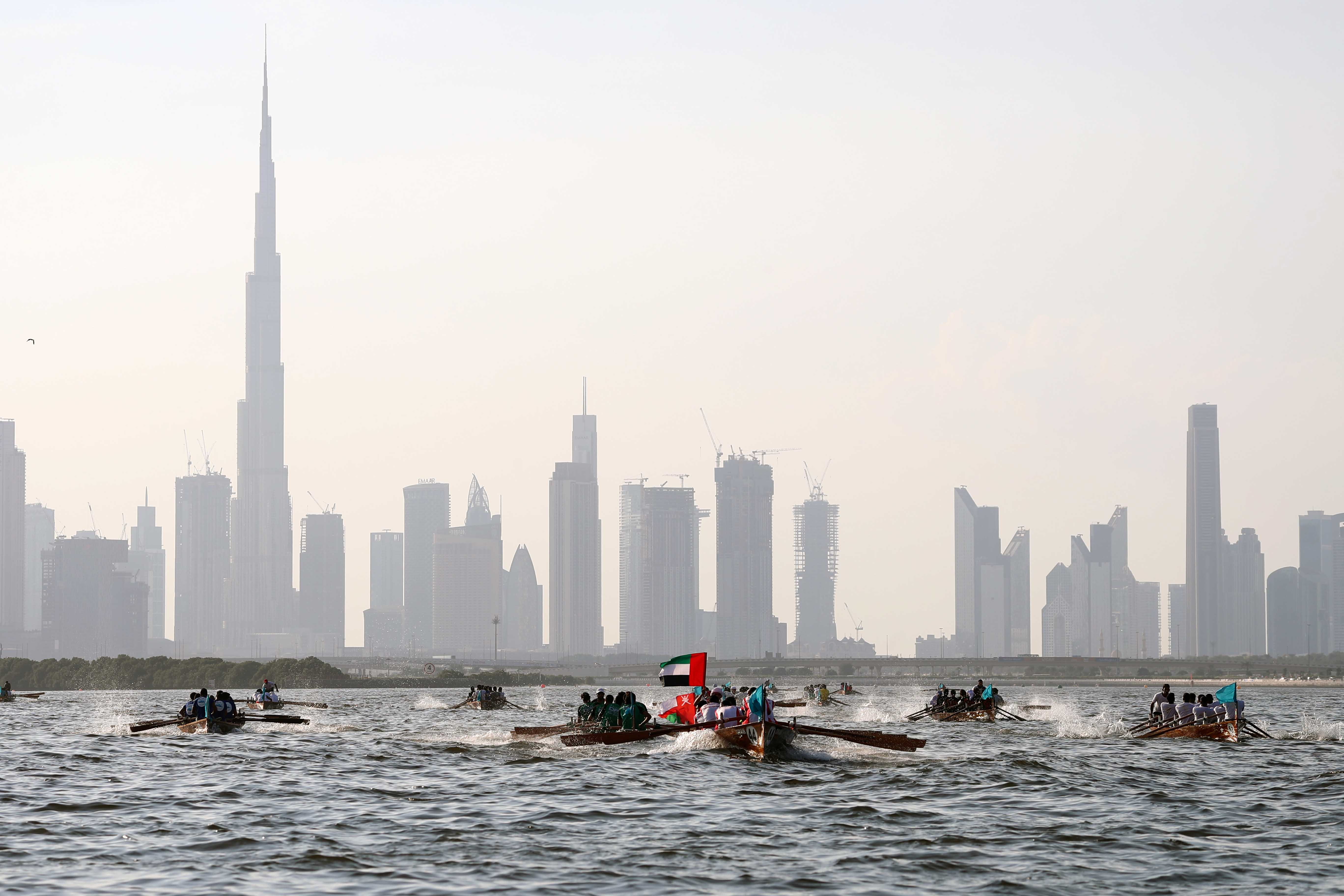 Traditional Rowing Race on Saturday at Dubai Canal