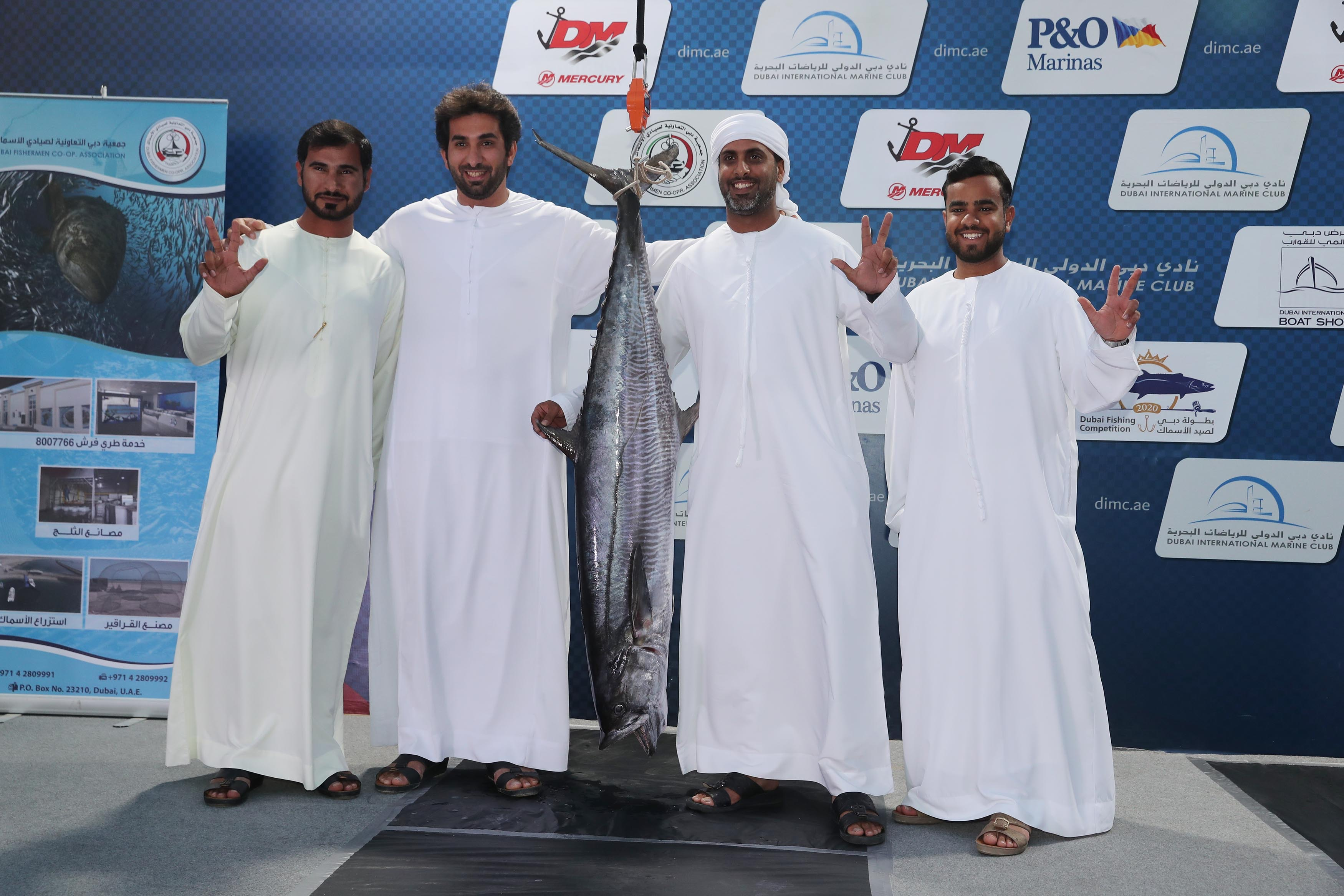 Dubai Fishing Championship sparks competition for the Kingfish Category