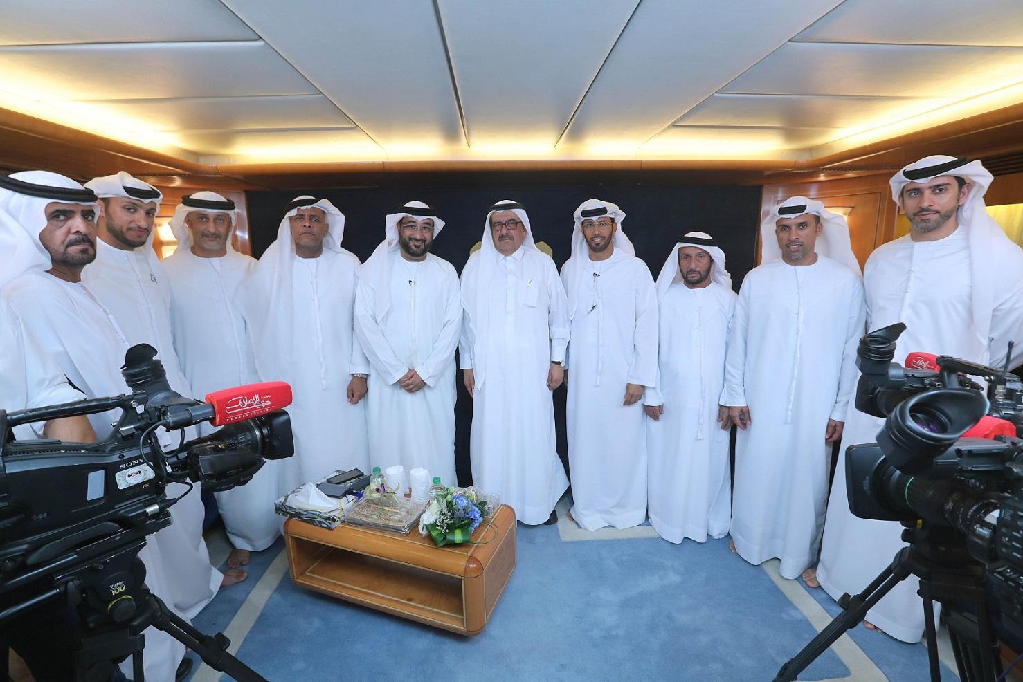 Hamdan Bin Rashid raises the prize to 12 Million Dirhams for Al Gaffal Race
