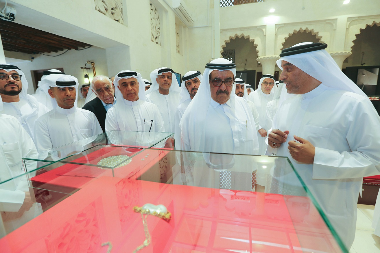 Hamdan Bin Rashid inaugurates Pearl Exhibition in Al Fahidi neighborhood