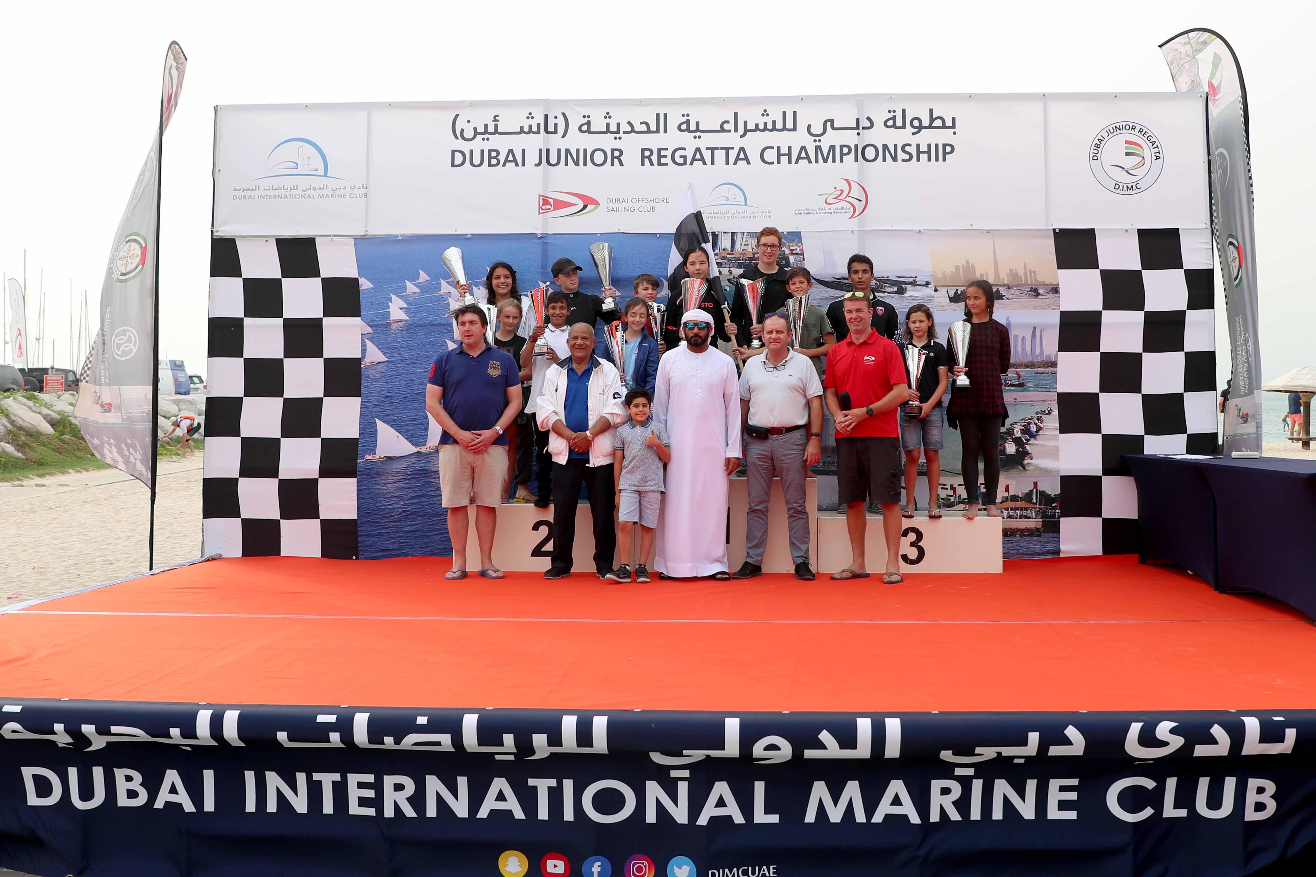 Success on the Second Round of the Dubai Junior Regatta