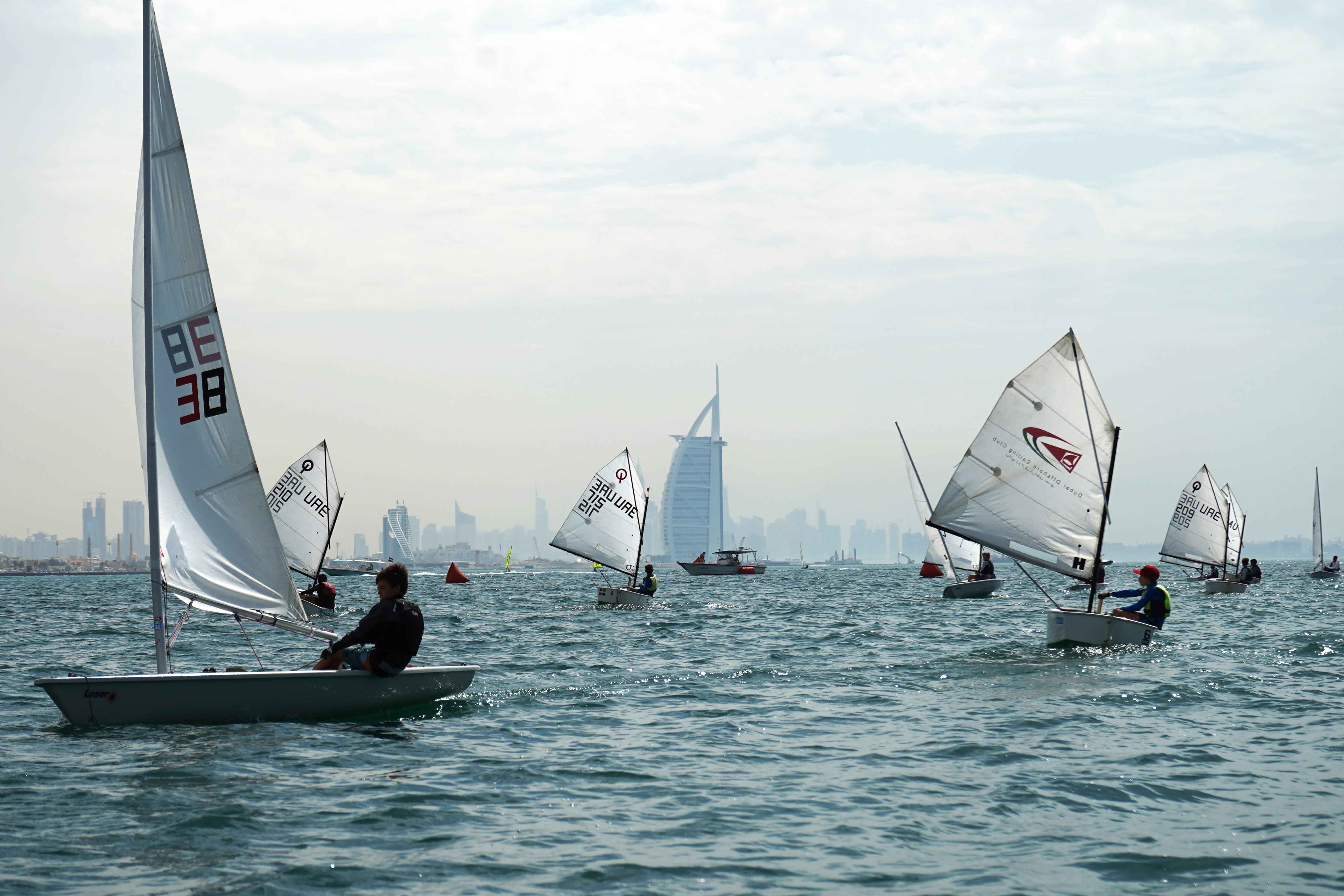 Dubai Junior Regatta Final Heat Today