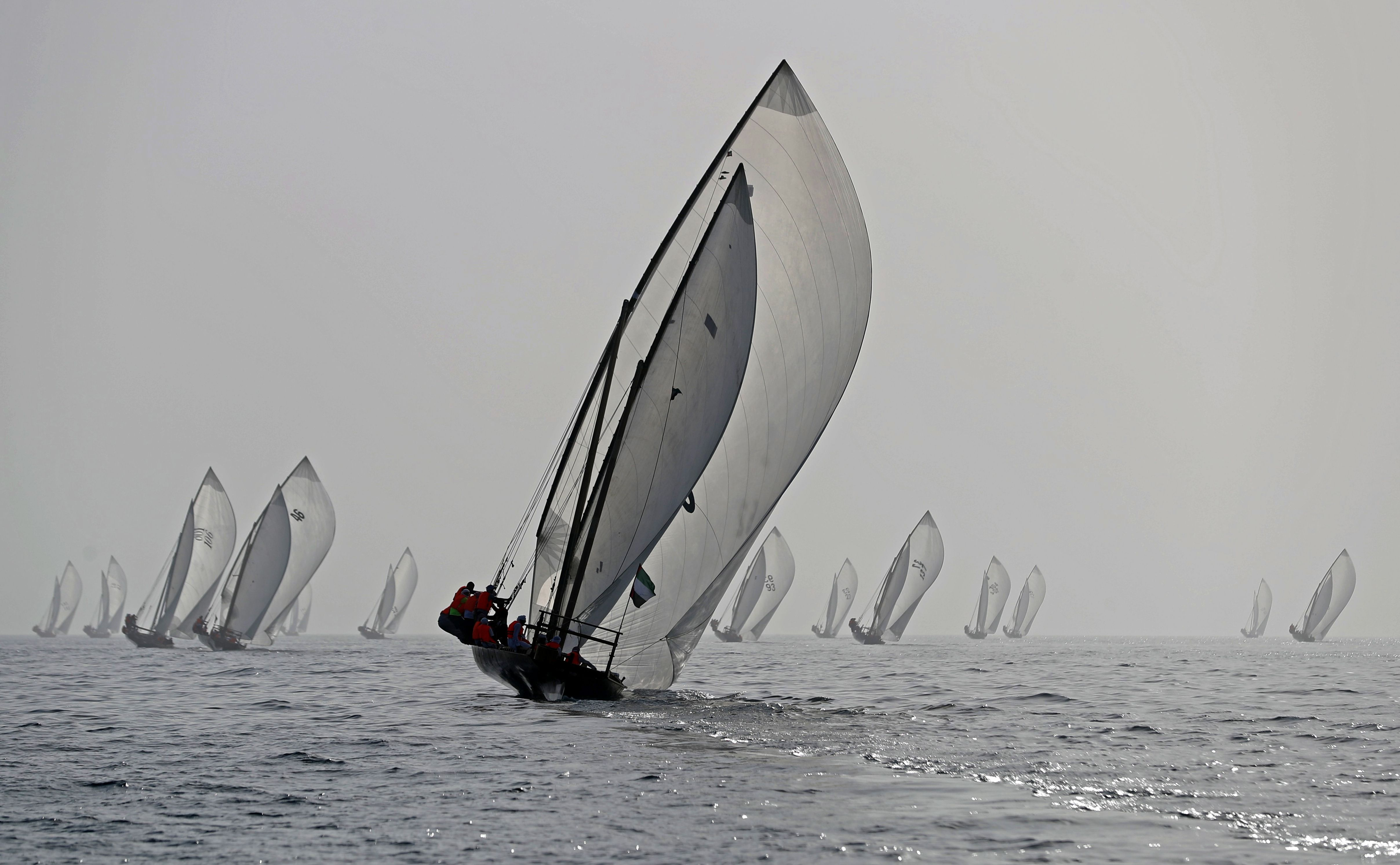 Weather postpones the start of the 29th Al Gaffal Race