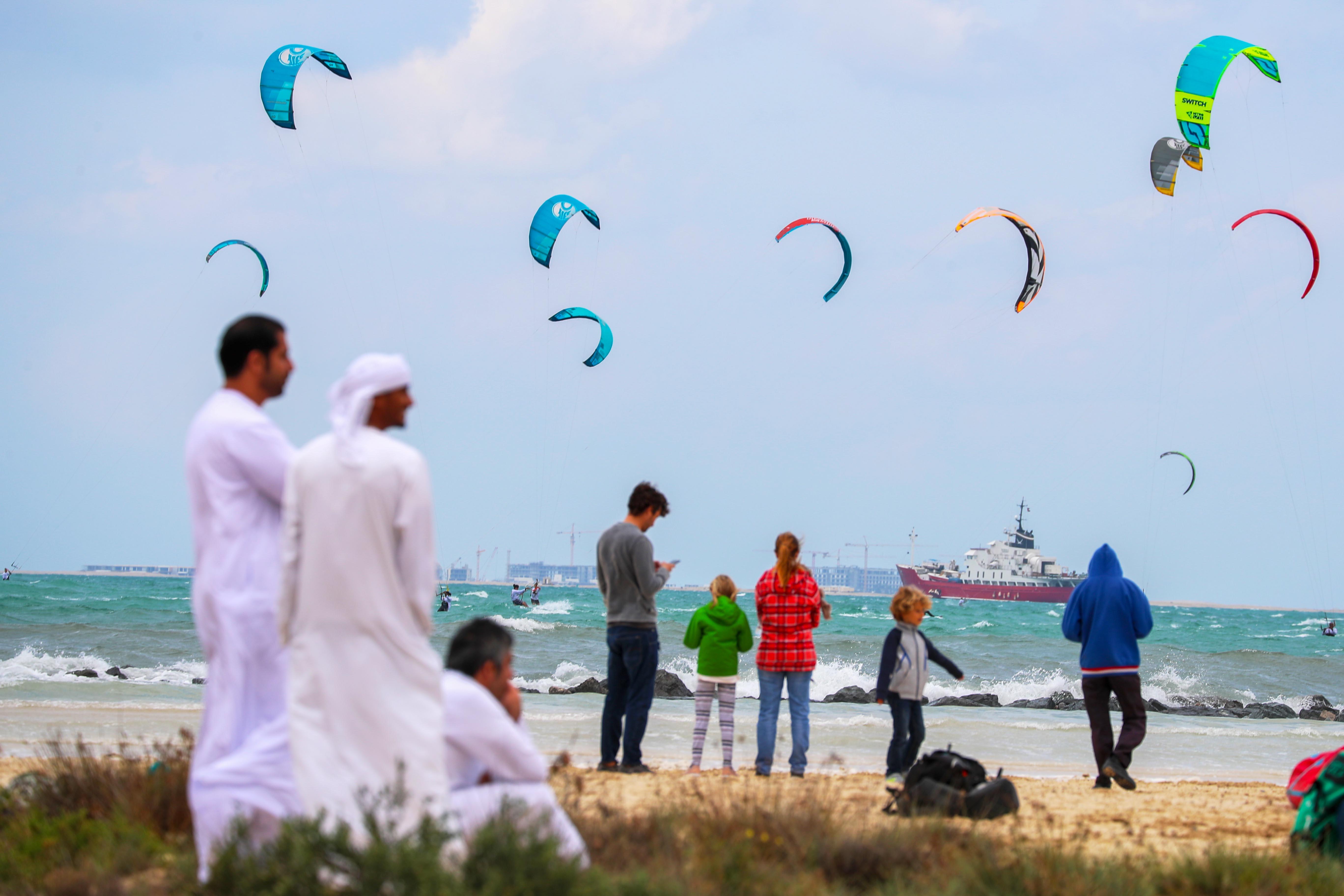Dubai Kitesurf Open Ends Today
