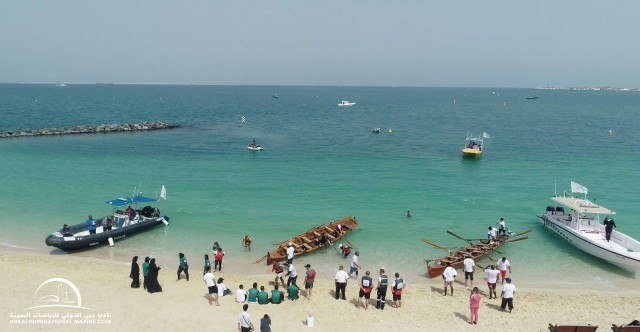 DIMC Vs. DED : Dubai Traditional Rowing Fun Race