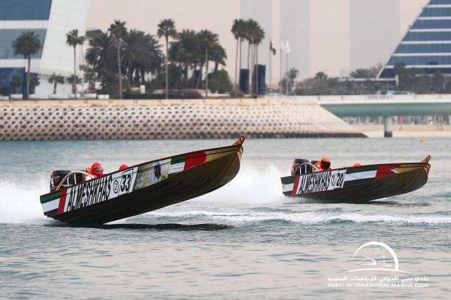 UAE WOODEN POWERBOAT CHAMPIONSHIP - HEAT 3