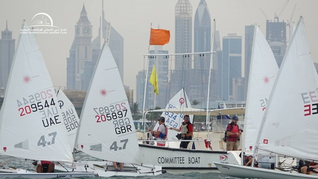 Dubai Junior Regatta Heat 3