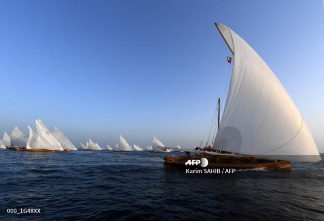 29th Al Gaffal Long Distance Race - Sir Bu Na'air to Dubai Coast by Karim Sahib