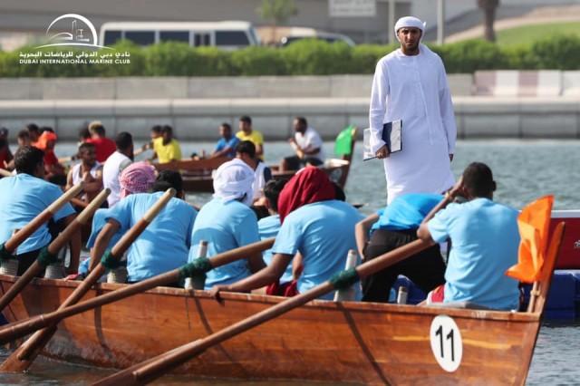 18.10.2019 Dubai Traditional Rowing Race - Heat 1
