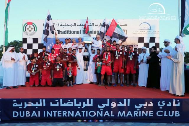 Al Maktoum Cup Traditional Rowing Race -30ft
