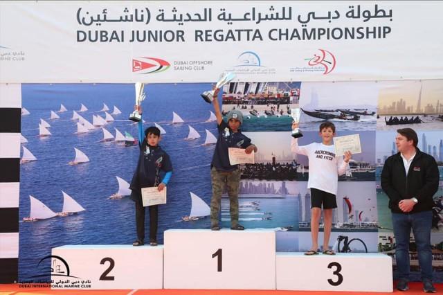 01.02.2020 Dubai Junior Regatta - Heat 1